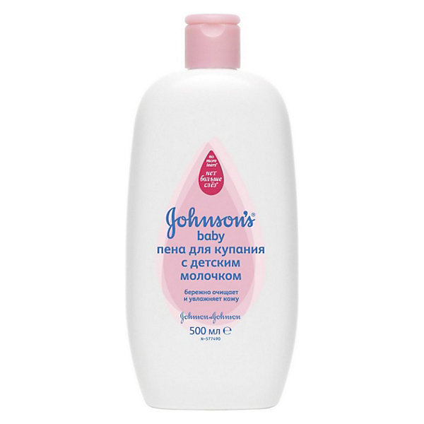"""Пена для купания с детским молочком, Johnson`s baby, 500 млКосметика для малыша<br>Пена Johnson`s baby (Джонсонс Бэби) для купания с детским молочком специально создана для того, чтобы ухаживать за кожей малыша во время водных процедур. Пена содержит мягкие поверхностно-активные вещества, соответствующие уровню рН кожи ребенка. Она мягко очищает кожу, не пересушивая ее. Прекрасно подходит для ежедневного применения. Формула Нет больше слез защищает глазки малыша от раздражения при случайном попадании пены, что добавит положительных эмоций во время купания и сделает эту процедуру приятной как для малыша, так и для мамы. <br><br>Дополнительная информация:<br><br>- Содержит увлажняющий детский лосьон;<br>- Не только очищает, но и нежно увлажняет детскую кожу;<br>- Благодаря формуле """"Нет больше слез"""" не щиплет глазки;<br>- Обладает приятным и нежным ароматом;<br>- Не содержит мыла и парабенов;<br>- Объем: 500 мл<br><br>Пену для купания с детским молочком Johnson`s baby (Джонсонс Бэби), 500 мл можно купить в нашем интернет-магазине.<br><br>Ширина мм: 45<br>Глубина мм: 96<br>Высота мм: 213<br>Вес г: 576<br>Возраст от месяцев: 0<br>Возраст до месяцев: 48<br>Пол: Унисекс<br>Возраст: Детский<br>SKU: 3663438"""