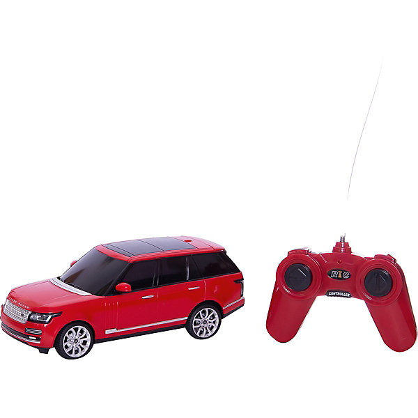 Машина Range Rover sport 2013 1:24, на р/у, RASTAR, в ассортиментеРадиоуправляемые машины<br>Машина Range Rover sport 2013 1:24, на радиоуправлении, RASTAR, в ассортименте – это точная копия оригинального автомобиля.<br>Радиоуправляемая машинка Range Rover Sport 2013 Version сделана в масштабе 1:24 точь в точь как настоящая. Машинка управляется пультом дистанционного управления, передвигается вперед и назад, поворачивает вправо и влево, останавливается. Модель оснащена световыми эффектами: включение фар при движении вперед, включение стоп-сигналов при торможении и движении назад.<br><br>Дополнительная информация:<br><br>- В комплекте: машинка, пульт управления, инструкция<br>- Пульт работает на частоте  27MHz<br>- Дальность действия радиосигнала: до 25 метров<br>- Максимальная скорость: 10 км/ч.<br>- Длина игрушки: 19 см.<br>- Размер упаковки: 38 х 13 х 11,5 см.<br>- Вес: 580 гр.<br>- Питание: 5 батареек АА (в комплект не входят)<br>- Материал: пластмасса, металл<br><br>ВНИМАНИЕ! Данный артикул имеется в наличии в различных цветовых исполнениях. Заранее выбрать определенный цвет нельзя. При заказе нескольких машин возможно получение одинаковых<br><br>Машина Range Rover sport 2013 1:24, на р/у, RASTAR – это мечта мальчишек любого возраста.<br><br>Машину Range Rover sport 2013 1:24, на р/у, RASTAR, в ассортименте можно купить в нашем интернет-магазине.<br>Ширина мм: 380; Глубина мм: 110; Высота мм: 130; Вес г: 580; Возраст от месяцев: 36; Возраст до месяцев: 144; Пол: Мужской; Возраст: Детский; SKU: 3665506;
