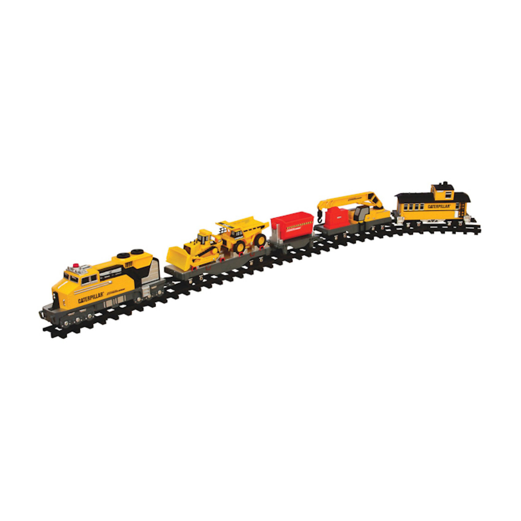 Железная дорога со строительной техникой, ToystateИгрушечная железная дорога одна из самых любимых детских игрушек. Собрать полотно, и запустить по нему локомотив с вагонами мечта любого мальчишки. В  набор строительного поезда помимо локомотива входит платформа для перевозки техники, опорный кран, саморазгружающийся вагон и вагон для рабочих. На платформе установлена строительная техника - самосвал и бульдозер. При необходимости их можно снять и играть ими отдельно. Длина железной дороги составляет 4 метра. Игрушка выполнена из высококачественного, нетоксичного и прочного материала, что гарантирует безопасность вашего ребенка. <br><br>Дополнительная информация:<br><br>- В комплекте: электропоезд, 4 метра железнодорожного полотна, 2 съемные машины со свободным ходом колес, опорный кран, саморазгружающийся грузовой вагон с двумя камнями<br>- Работает от батареек типа ААА (3 шт.) - в комплект не входят<br>- Материал: металл, пластмасса<br>- Размер коробки: 19x54x31 см.<br><br>Железную дорогу со строительной техникой, Toystate можно купить в нашем интернет-магазине.<br><br>Ширина мм: 570<br>Глубина мм: 330<br>Высота мм: 550<br>Вес г: 2730<br>Возраст от месяцев: 24<br>Возраст до месяцев: 60<br>Пол: Мужской<br>Возраст: Детский<br>SKU: 3665520