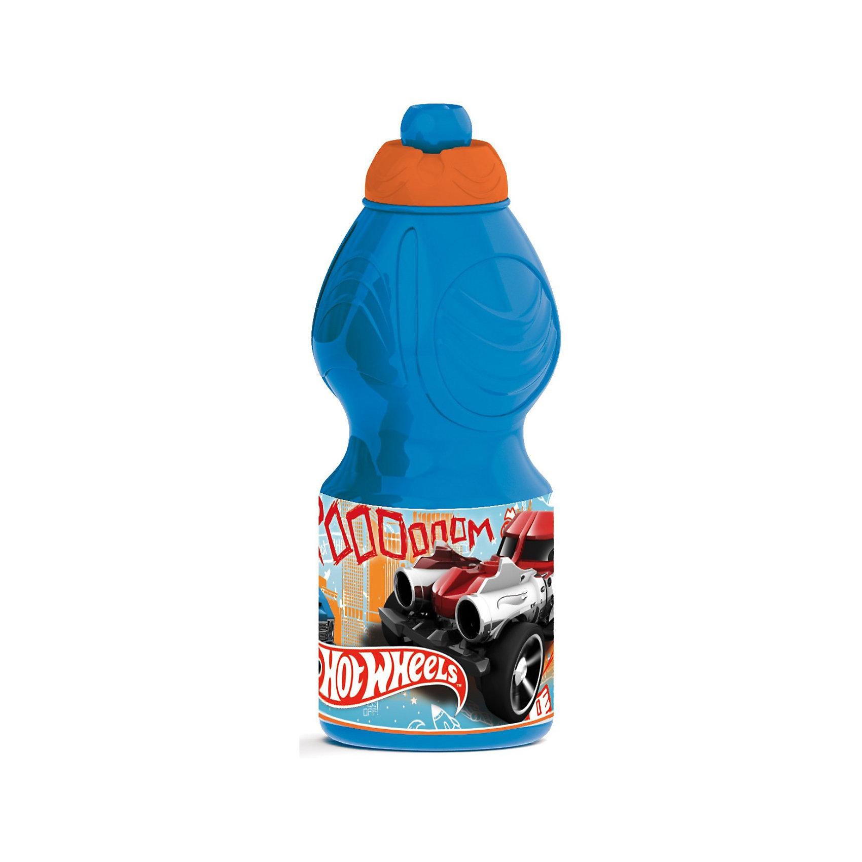 Бутылочка для питья (400мл), Hot WheelsБутылочка для питья (400мл), Hot Wheels (Хот Вилс) – это не только удобная, но и очень красивая бутылочка с рисунком Hot Wheels.<br>Спортивная бутылочка для питья Hot Wheels (Хот Вилс) изготовлена из качественного пластика, без использования токсичных красителей. Бутылочка проста в эксплуатации, герметична, легко моется вручную и легко переносит высокие температуры. Но главное достоинство этой ёмкости - необычный внешний вид. Интересный дизайн позволит Вашему ребенку использовать бутылочку в разнообразных играх про пиратов, космических путешественников или роботов, ведь даже супергероям необходимо есть и пить. Ваш ребенок может брать бутылочку в поход, на прогулку или в школу. Максимально возможная температура жидкости – 40 градусов. Не предназначена для использования в микроволновой печи. Не кипятить.<br><br>Дополнительная информация:<br><br>- Объем: 400 мл.<br>- Высота: 18 см.<br>- Материал: пластик<br><br>Бутылочку для питья (400мл), Hot Wheels (Хот Вилс) можно купить в нашем интернет-магазине.<br><br>Ширина мм: 70<br>Глубина мм: 70<br>Высота мм: 195<br>Вес г: 60<br>Возраст от месяцев: 36<br>Возраст до месяцев: 108<br>Пол: Мужской<br>Возраст: Детский<br>SKU: 3667799