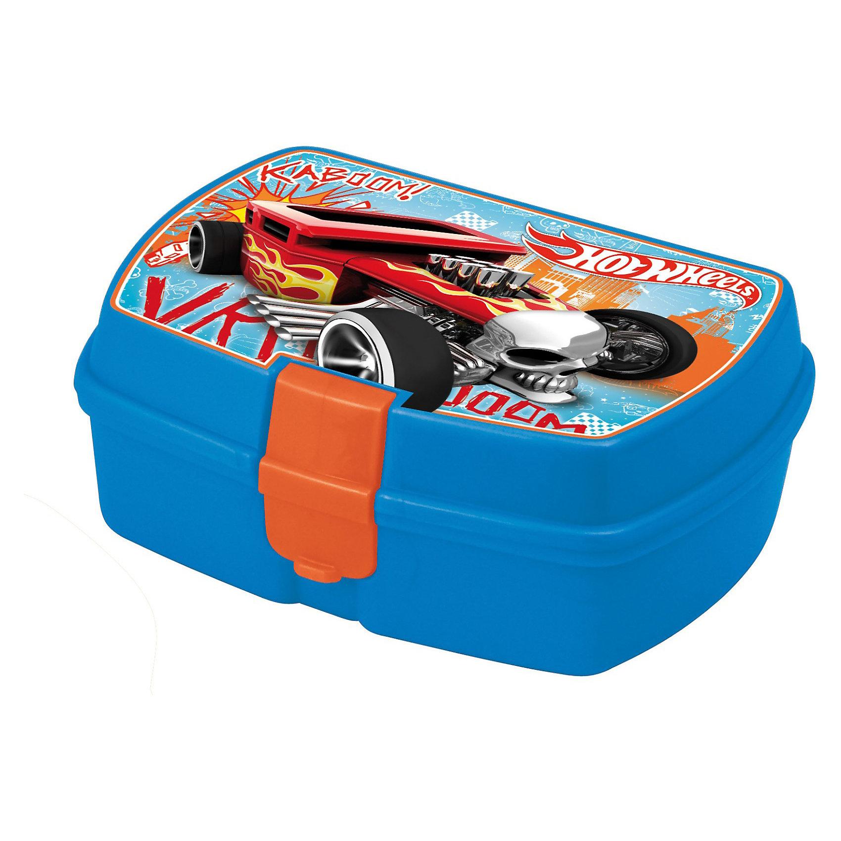 Контейнер для сэндвичей с внутренним лотком, hot wheels