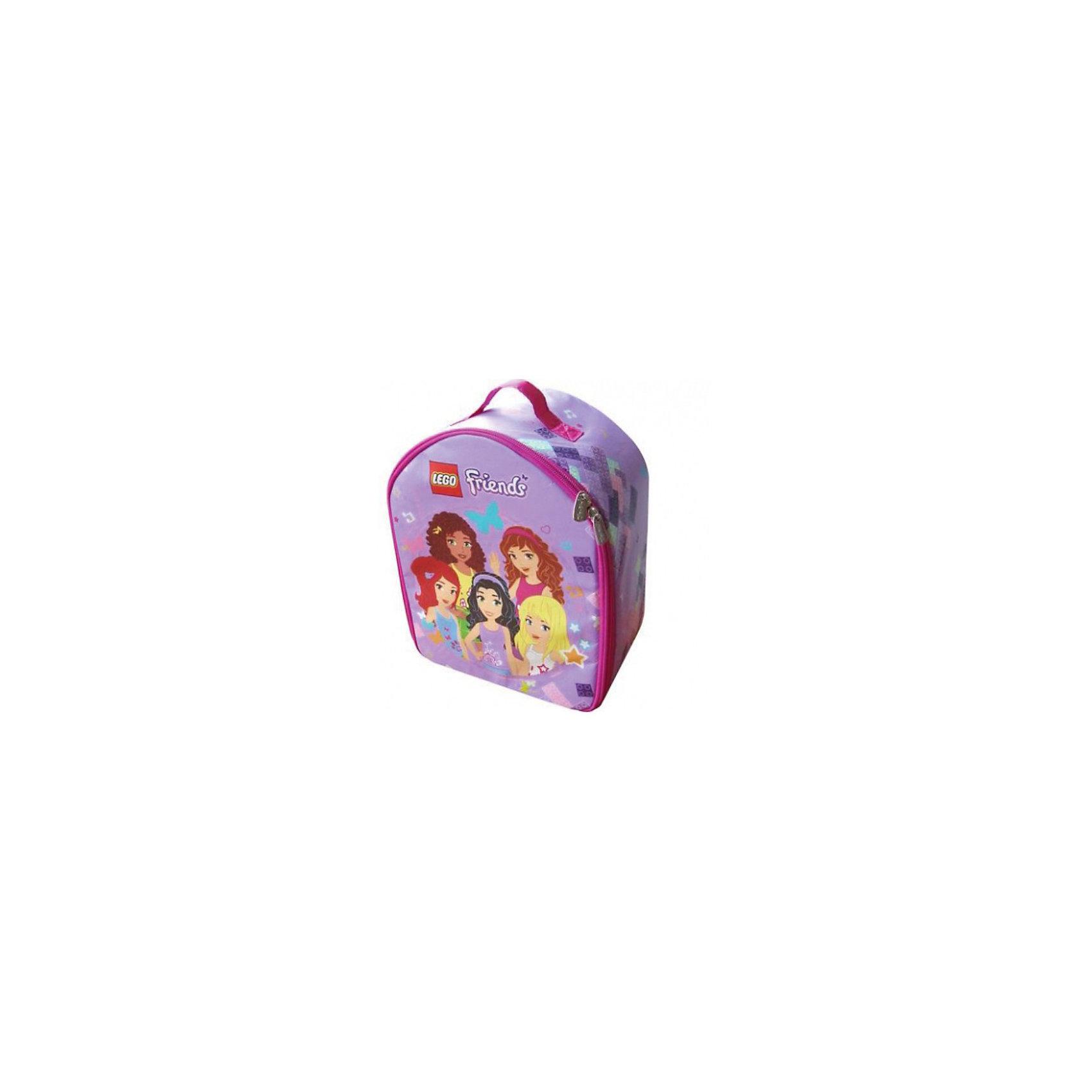 Сумка-коврик, LEGO FriendsСумка-коврик, LEGO Friends (ЛЕГО Френдс) – это удобная сумка для игрушек с возможностью трансформирования в игровой коврик.<br>Только гениальные подружки из серии Lego Friends могли придумать такую удобную и стильную вещицу, как сумка-коврик. Теперь ты сможешь отправиться вместе с подружками куда угодно – в путешествие, на природу, в гости. Сумка довольно вместительная, поэтому ее можно наполнить большим количеством игрушек. Но, несмотря на превосходную вместительность, выглядит она компактно, и плюс к этому она очень легкая. Нельзя не оценить оригинальную конструкцию сумки-коврика. Чтобы сделать из сумки игровой коврик, не обязательно раскладывать целиком все изделие. Можно превратить в коврик лишь один бок сумки, а детальки при этом будут находиться внутри, и ребенок сможет по несколько штук вытаскивать их. В качестве застежки использована надежная и прочная молния, которая не дает содержимому рассыпаться. Для комфортного перемещения сумки-коврика предусмотрена удобная переносная ручка.<br><br>Дополнительная информация:<br><br>- Размер упаковки: 23 х 29 х 14 см.<br>- Вес: 250 г.<br><br>Сумку-коврик, LEGO Friends (ЛЕГО Френдс) можно купить в нашем интернет-магазине.<br><br>Ширина мм: 220<br>Глубина мм: 280<br>Высота мм: 140<br>Вес г: 250<br>Возраст от месяцев: 36<br>Возраст до месяцев: 120<br>Пол: Женский<br>Возраст: Детский<br>SKU: 3667818