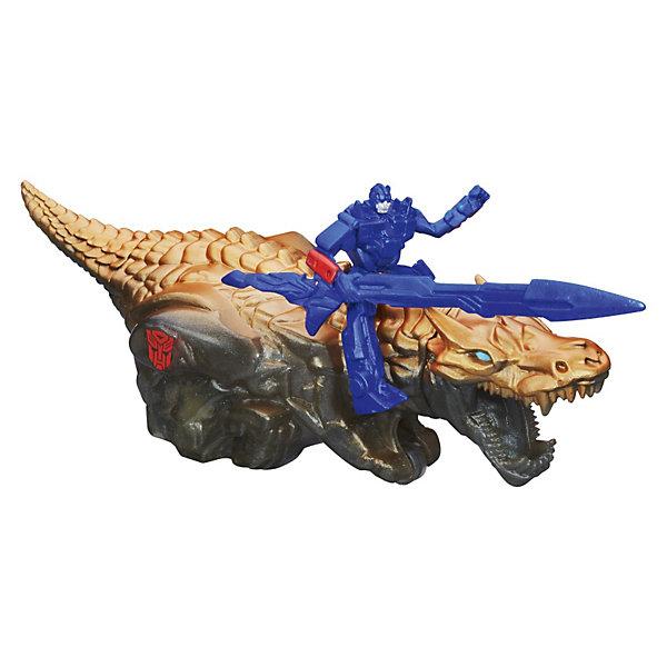 Дино Спарклс, Трансформеры, в ассортиментеТрансформеры-игрушки<br>Дино Спарклс, Трансформеры, в ассортименте – это реалистичные фигурки персонажей из фильма «Трансформеры 4» автобота и динобота.<br>В наборе Дино Спарклс как и в фильме Трансформеры 4  (Transformers) сообща действуют два предводителя — автобот и динобот. Динобот — это большой механический динозавр, который искрится при движении, наводя ужас на дисептиконов. Чтобы активировать данную функцию, просто нужно потянуть его назад и отпустить. <br>Представленные фигурки обладают высокой степенью прорисовки и детализации. Игрушки изготовлены из прочного высококачественного материала, не вызывающего аллергических реакций и безопасного для здоровья.<br><br>Дополнительная информация:<br><br>- Фигурка автобота сидит у динобота на спине.<br>- Автобот вооружен. <br>- Роботы не трансформируются. <br>- Фигурки можно использовать отдельно. <br>- В ассортименте: Оптимус Прайма и Гримлока, Бамблби и Стрейф<br>- В комплекте: автобот, динобот<br>- Длина дракона около 15 см, высота робота около 5 см.<br>- Размер упаковки: 20 х 20 х 8 см.<br>- Материал: высококачественная пластмасса<br><br>ВНИМАНИЕ! Данный артикул представлен в разных вариантах исполнения.  К сожалению, заранее выбрать определенный вариант невозможно. При заказе нескольких артикулов возможно получение одинаковых.<br><br>Дино Спарклс, Трансформеры (Transformers), в ассортименте можно купить в нашем интернет-магазине.<br>Ширина мм: 76; Глубина мм: 203; Высота мм: 197; Вес г: 325; Возраст от месяцев: 48; Возраст до месяцев: 96; Пол: Мужской; Возраст: Детский; SKU: 3674044;