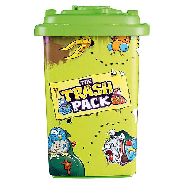Контейнер для хранения Треш Монстрики +2 героя, MooseЯщики для игрушек<br>Контейнер для хранения Трэш Монстрики +2 героя от Moose - забавный красочный аксессуар, который станет приятным сюрпризом для Вашего ребенка, особенно если он является поклонником этих забавных персонажей. Трэш-монстрики, веселые и совсем не страшные чудища, живущие в мусорных контейнерах, отличаются многообразием и забавным внешним видом. В коллекции монстриков Moose более 100 персонажей, каждый из которых обладает индексом редкости: распространенные, редкие и очень редкие.<br>Яркий зеленый контейнер украшен изображениями монстриков и способен вместить в себя 18 коллекционных фигурок. Контейнер оснащен колесиками для перевозки и плотной крышкой со штырьками, на которых можно разместить 3 монстров. В комплекте также 2 оригинальные мини-фигурки монстров с баками.<br><br>Дополнительная информация:<br><br>- В комплект: 1 контейнер, 2 фигурки-монстрика в баках. <br>- Материал: пластик.<br>- Размер контейнера: 18 х 10 х 11 см.<br>- Вес: 0,27 кг. <br><br>Контейнер для хранения Трэш Монстрики, Moose можно купить в нашем интернет-магазине.<br>Ширина мм: 124; Глубина мм: 150; Высота мм: 192; Вес г: 340; Возраст от месяцев: 60; Возраст до месяцев: 120; Пол: Мужской; Возраст: Детский; SKU: 3674130;