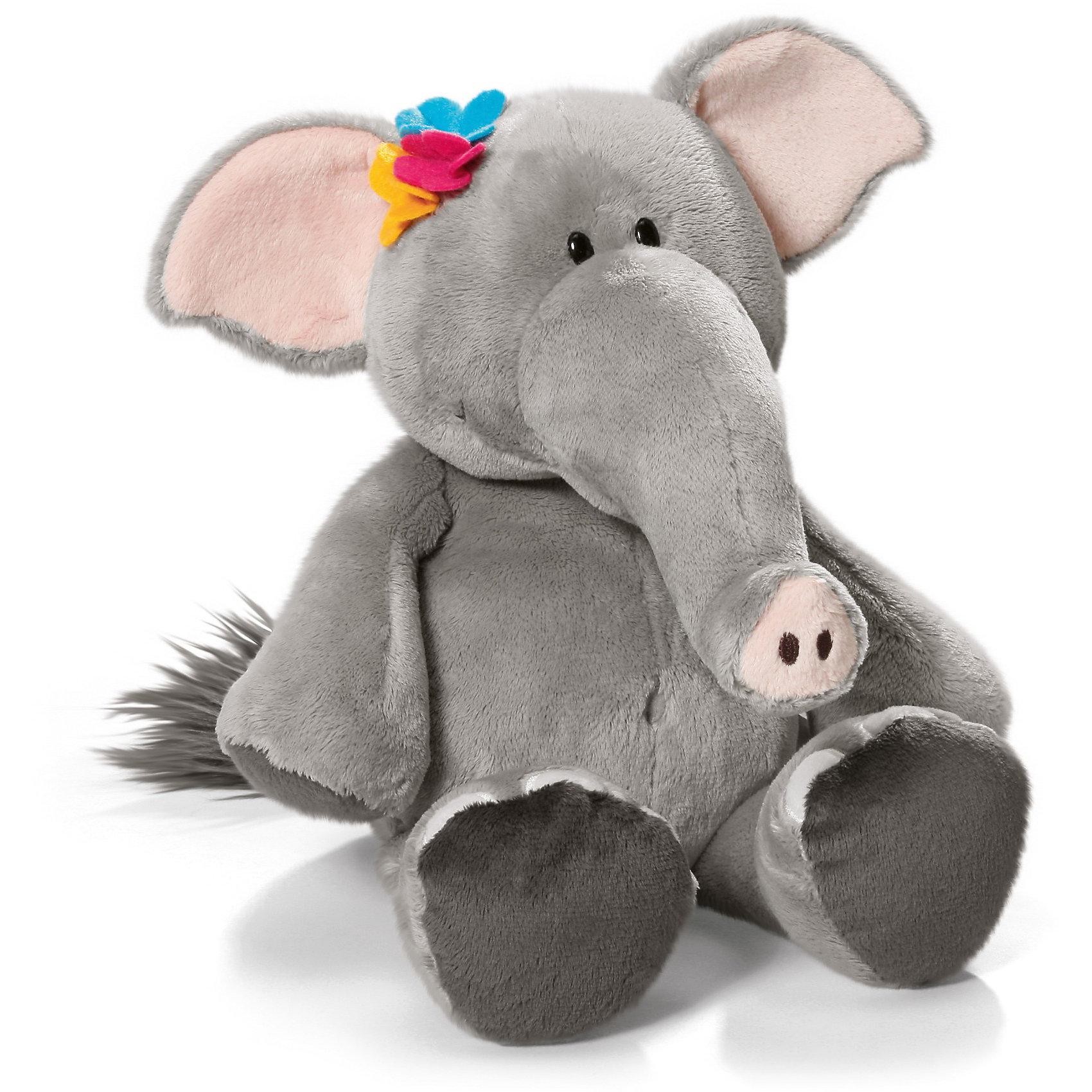 Слониха, 25 см,  NICIЗвери и птицы<br>Плюшевая зверушка Слониха, 25 см от NICI станет прекрасным подарком для Вашего малыша.<br>Мягкая игрушка Слониха, сидячая – это очаровательная плюшевая игрушка от немецкого производителя Nici. Симпатичная слониха станет лучшим другом Вашего малыша на долгие годы. Игрушка сделана из мягкого приятного на ощупь материала, и ребенку очень понравится гладить его и прижимать к себе. Глазки у слонихи пластиковые. Основной цвет игрушки - серый, внутренняя часть ушек слонихи - розовая, на голове - маленькие разноцветные цветочки. Игрушку можно посадить на ровную поверхность.<br>Игрушка изготовлена из экологически чистых материалов: высококачественного плюша с набивкой из гипоаллергенного синтепона. Не деформируется и не теряет внешний вид при стирке.<br><br>Дополнительная информация:<br><br>- Высота игрушки: 25 см.<br>- Материал: плюш, синтепон<br><br>Мягкую игрушку Слониха, 25 см можно купить в нашем интернет-магазине.<br><br>Ширина мм: 240<br>Глубина мм: 182<br>Высота мм: 111<br>Вес г: 142<br>Возраст от месяцев: 24<br>Возраст до месяцев: 2147483647<br>Пол: Унисекс<br>Возраст: Детский<br>SKU: 3674984
