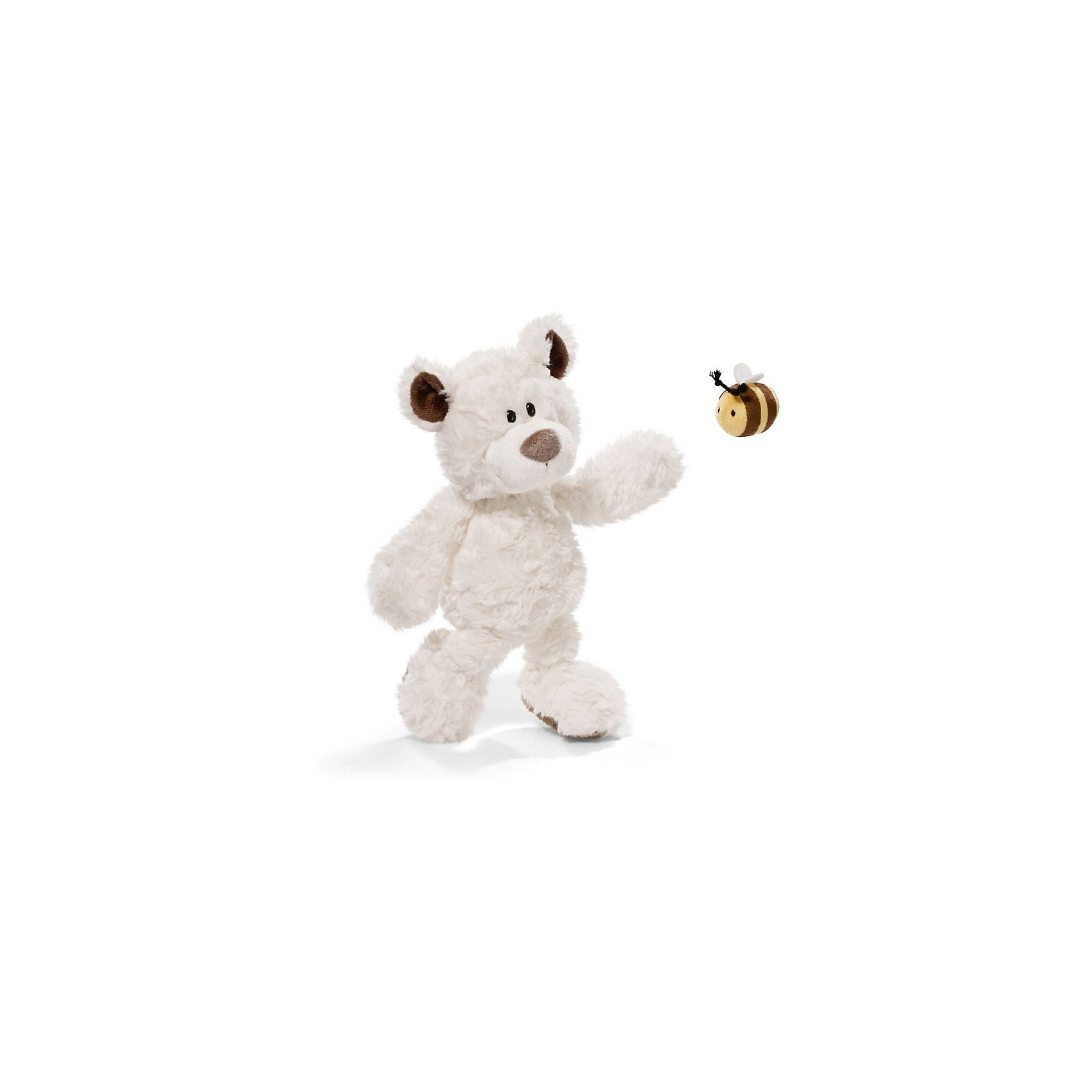 Медвежонок, 35 см, с пчелкой,  NICI