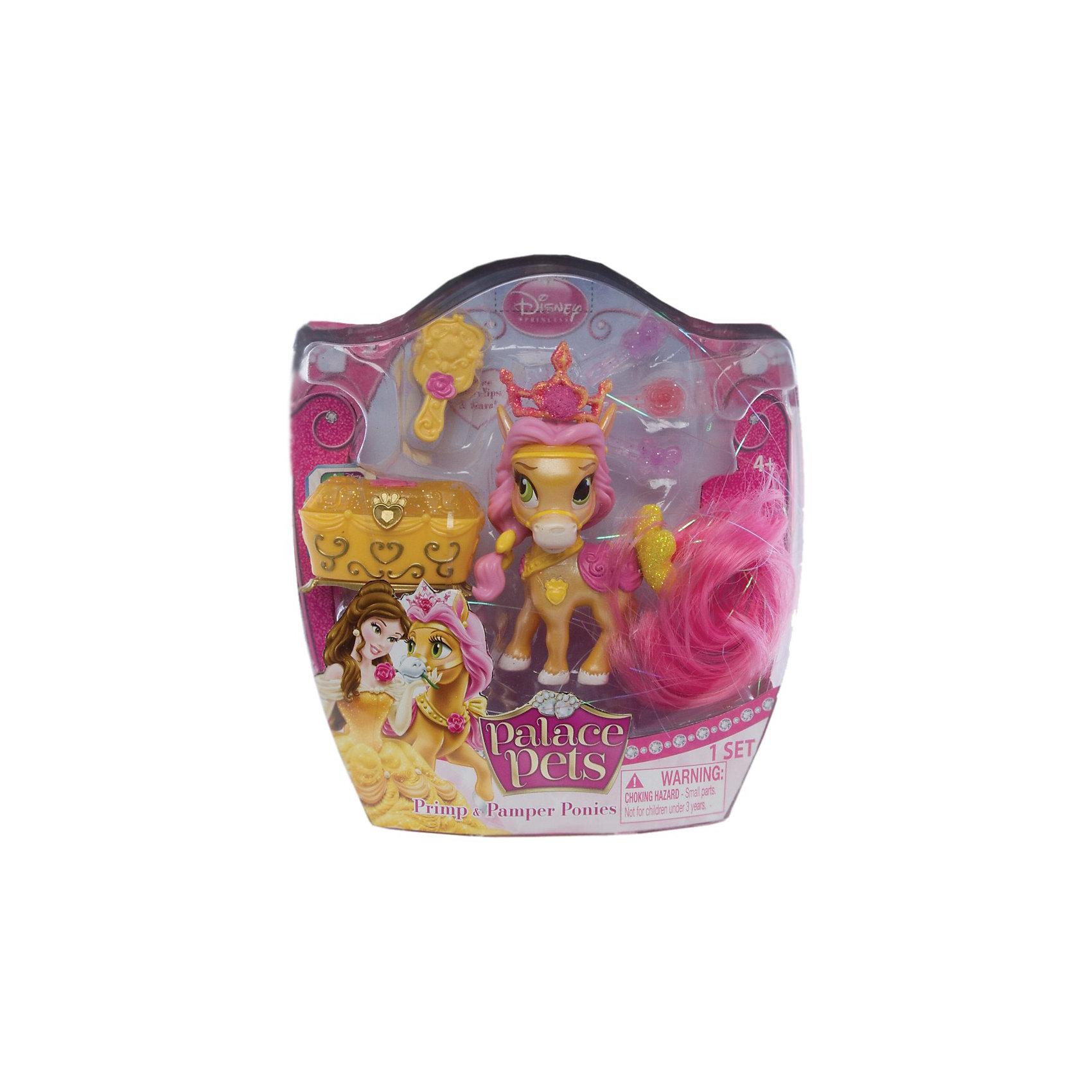 - Пони (питомец Белль), с аксессуарами, Palace Pets palace pets игровой набор пони невеличка питомец бель