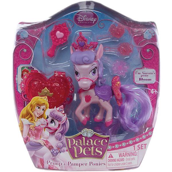 Пони (питомец Авроры), с аксессуарами, Palace PetsФигурки из мультфильмов<br>Симпатичный питомец Пони (питомец Авроры), с аксессуарами, Palace Pets (Дворцовые питомцы) входит в коллекцию зверушек принцесс Диснея, которые живут вместе со своими хозяйками в их шикарных дворцах. <br><br>Пони, сказочный питомец Авроры, имеет длинную гриву и хвост сиреневого цвета, их можно расчесывать при помощи щеточки, входящей в набор. В наборе есть шкатулочка в форме сердечка, в которой можно хранить драгоценности, а также три клипсы для гривы и хвоста.<br><br>Дополнительная информация:<br>-Комплектация: буклет, щеточка для хвоста и гривы, шкатулочка, 3 клипсы для украшения<br>-Материал: ПВХ<br>-Размер игрушки: около 8 см<br><br>Любая девочка будет очарована таким подарком! Пони (питомец Авроры) привлечет внимание вашей малышки и не позволит ей скучать.<br><br>Пони (питомец Авроры), с аксессуарами, Palace Pets (Дворцовые питомцы) можно купить в нашем магазине.<br><br>Ширина мм: 152<br>Глубина мм: 57<br>Высота мм: 184<br>Вес г: 120<br>Возраст от месяцев: 36<br>Возраст до месяцев: 144<br>Пол: Женский<br>Возраст: Детский<br>SKU: 3676458