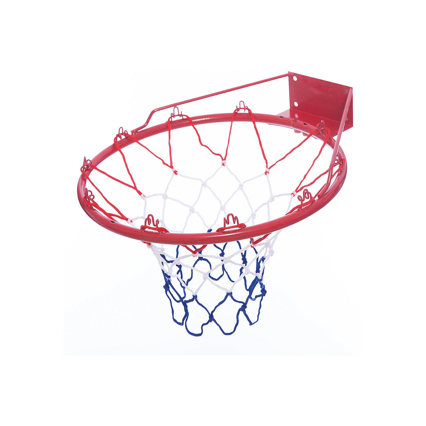 Баскетбольная корзинаБаскетбольная корзина диаметром 42 см прекрасно подойдет для занятий баскетболом. Почувствовать себя настоящим баскетболистом и участником крутых соревнований по баскетболу теперь вашему ребенку не составит труда.<br><br>Имея такой набор для игры в баскетбол, Ваш ребенок сможет не только весело провести время у себя дома, но и на улице в окружении своих друзей. А, играя с такой игрушкой, у вашего ребенка развивается меткость, прыткость и он получает положительный заряд энергии на долгое время. <br><br>Комплектация: баскетбольная корзина, сетка для корзины и необходимые крепления<br><br>Дополнительная информация:<br><br>-Диаметр корзины: 42см<br><br>Корзина баскетбольная в комплекте с сеткой и креплениями станет прекрасным подарком вашему малышу! Может применяться как для игр дома, так и для игр на улице! <br><br>Баскетбольную корзину можно купить в нашем магазине.<br><br>Ширина мм: 445<br>Глубина мм: 80<br>Высота мм: 445<br>Вес г: 1375<br>Возраст от месяцев: 36<br>Возраст до месяцев: 1188<br>Пол: Унисекс<br>Возраст: Детский<br>SKU: 3676464