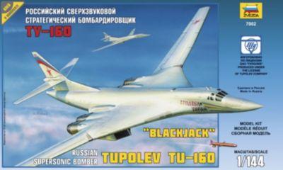 Сборная модель самолета Ту-160 , Звезда