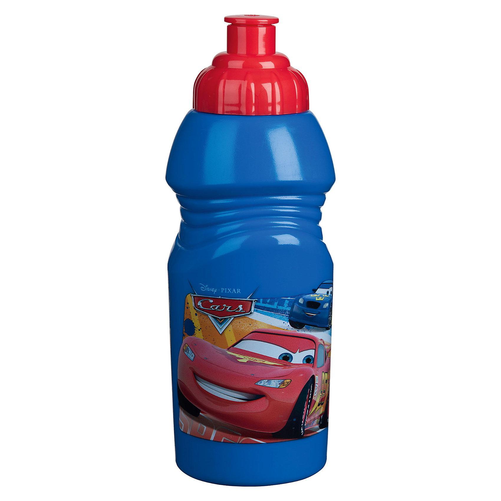 Бутылка спортивная малая (375 мл), Тачки