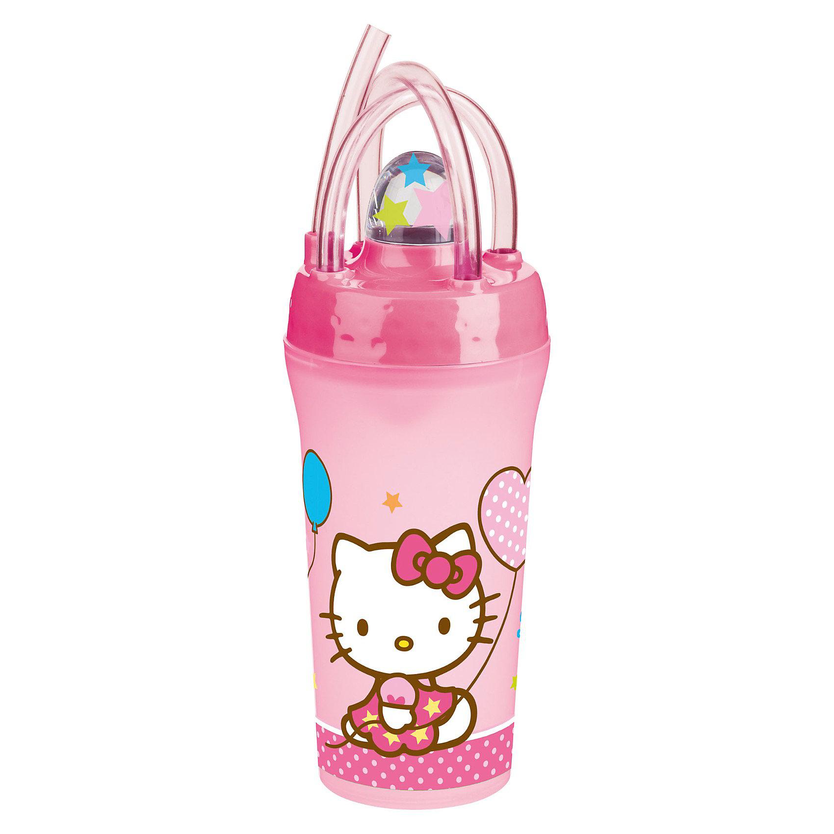 Стакан с крышкой и соломинкой (300 мл), Hello KittyСтакан с крышкой и соломинкой Hello Kitty (Хэллоу Китти) порадует всех юных любительниц популярной белой кошечки. Стакан выполнен из безопасного пищевого пластика, имеет стильный дизайн и украшен изображением симпатичной кошечки Hello Kitty. Наличие соломинки и крышки делает его особенно удобным для использования ребенком.<br><br>Дополнительная информация:<br><br>- Материал: пищевой пластик.<br>- объем: 300 мл.<br>- Размер: 18 х 9,5 х 33 см.<br>- Вес: 50 гр.<br><br>Стакан с крышкой и соломинкой (300 мл), Hello Kitty можно купить в нашем интернет-магазине.<br><br>Ширина мм: 180<br>Глубина мм: 75<br>Высота мм: 95<br>Вес г: 50<br>Возраст от месяцев: 36<br>Возраст до месяцев: 120<br>Пол: Женский<br>Возраст: Детский<br>SKU: 3681246