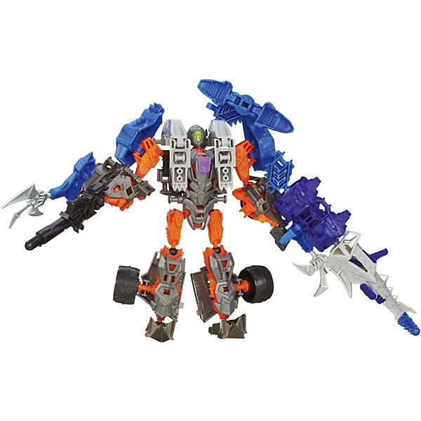 Констракт Боты: Динобот Lockdown &amp; Hangnail Dino, Войны, Трансформеры 4Игрушки<br>Констракт Боты: Динобот Lockdown &amp; Hangnail Dino, Войны, Трансформеры 4 – это точные копии героев фильма Трансформеры 4  (Transformers), которых нужно собирать из деталей.<br>Робот и динозавр из серии Констракт-Боты собираются как конструкторы. Соберите их из отдельных деталей, а потом переведите их в другой режим! Можно использовать детали динозавра для создания еще более прочной брони и дополнительного оружия для робота. Робота можно трансформировать в автомобиль. Количество сюжетов для игр с этим набором просто не ограничено! Игрушки изготовлены из прочного высококачественного материала, не вызывающего аллергических реакций и безопасного для здоровья.<br><br>Дополнительная информация:<br><br>- Десептикон Локдаун и когтистый динозавр состоят из 57 деталей<br>- В комплекте: детали для сборки, инструкция<br>- Размер упаковки: 24 x 21 x 5 см.<br>- Материал: высококачественная пластмасса<br><br>Пподарите своему ребёнку возможность погрузиться в любимый мир трансформеров с увлекательной игрой из серии «Собери робота».<br><br>Констракт Боты: Динобот Lockdown &amp; Hangnail Dino, Войны, Трансформеры 4 можно купить в нашем интернет-магазине.<br>Ширина мм: 51; Глубина мм: 216; Высота мм: 241; Вес г: 350; Возраст от месяцев: 72; Возраст до месяцев: 192; Пол: Мужской; Возраст: Детский; SKU: 3683275;