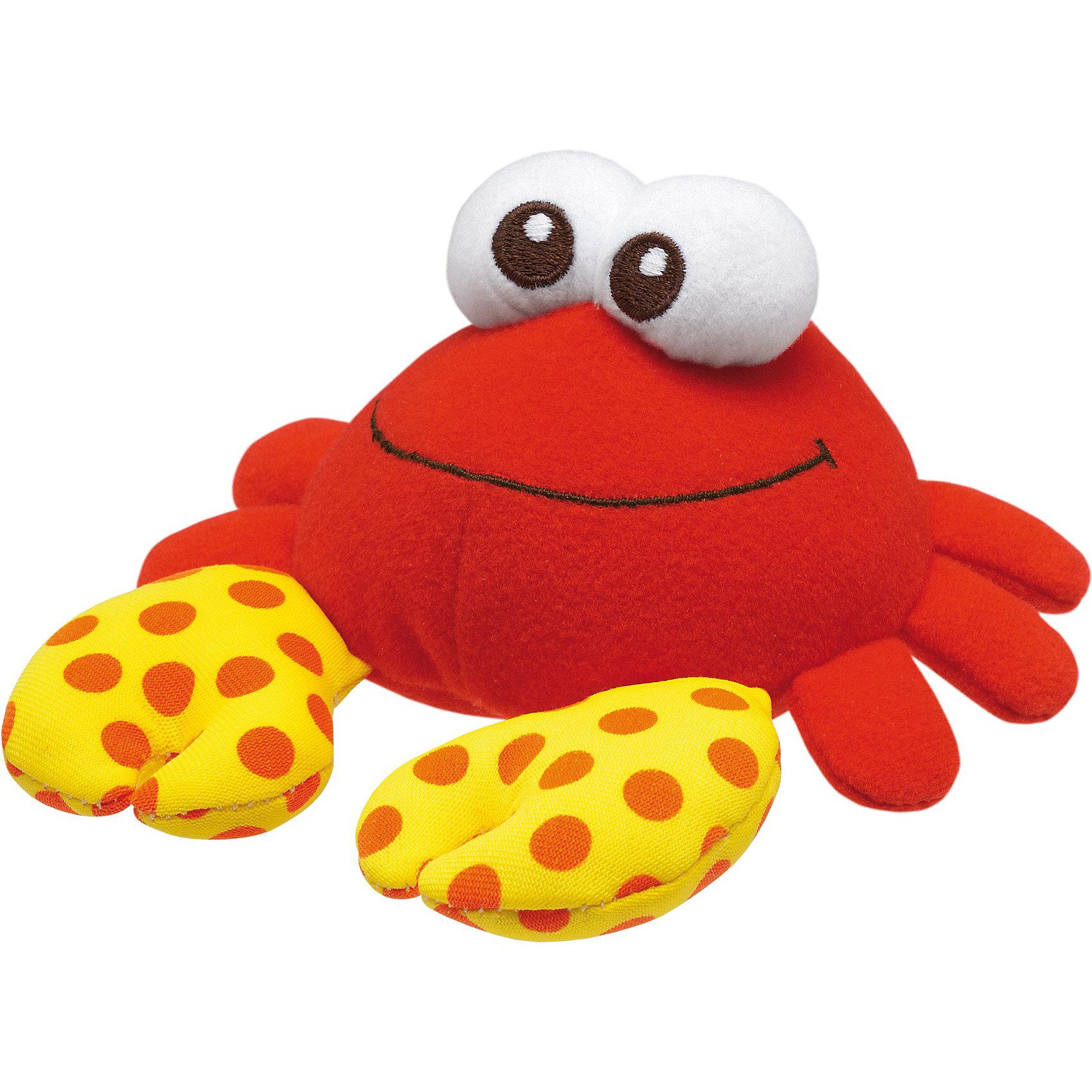 Игрушка для ванной  Волшебный краб, ChiccoИгрушки - постирай-ки<br>Игрушка для ванны Волшебный краб от Chicco (Чико) - забавная яркая игрушка, которая развлечет малыша во время купания. Крабик выполнен в ярких красно-желтых тонах. Он очень мягкий и приятный на ощупь, изготовлен из материалов разной фактуры, что стимулирует развитие тактильных навыков ребенка. Крабик может также использоваться как градусник для определения комфортной температуры воды: если вода слишком горячая для купания малыша, рисунок в горошек на ткани исчезает, в прохладной воде - проявляется. Крабик быстро сохнет, допускается ручная стирка.<br><br>Дополнительная информация:<br><br>- Материал: текстиль.<br>- Размер игрушки: 13 х 12 х 5,5 см. <br>- Размер упаковки: 16,5 х 21 х 5,5 см. <br>- Вес: 86 гр.<br><br> Игрушку для ванны Волшебный краб, Chicco (Чико) можно купить в нашем интернет-магазине.<br><br>Ширина мм: 210<br>Глубина мм: 157<br>Высота мм: 57<br>Вес г: 86<br>Возраст от месяцев: 6<br>Возраст до месяцев: 48<br>Пол: Унисекс<br>Возраст: Детский<br>SKU: 3688345