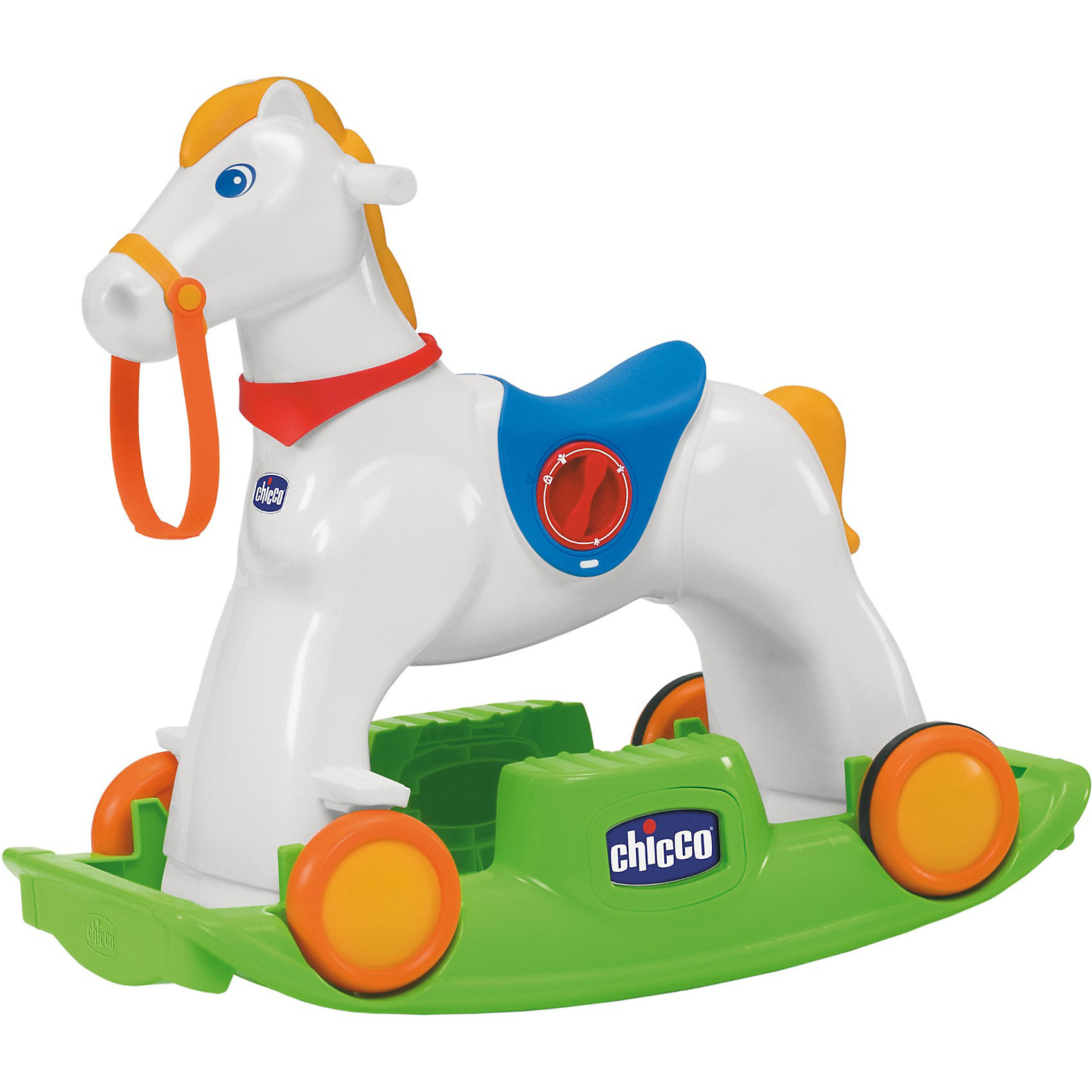 ����������� ������� ������� Rodeo, Chicco����������� ������� ������� Rodeo �� Chicco (����) - ����������� �������-�������, ������� �� ������� ����������� ������ ������. ����������� ���� ������� - ��� ����� ������� �������. � ������� ������� ���������� ������� ���������, ��� ��������� ������������ �� ��� �������. ��������� ����� ����� � ����� ������� ������������ � ������� �� ���������, �� ������� ����� �������������, ������������ �������. � ������� ������� ����� � �������, ������� ������� ��� ����� �� ���������� ���������.<br><br>��� ����� �������� ������������� ������� ����� - ���� ������� ��������� � �����, ������� ����� ����������� ��������� ������ � ������� ��������� �������������. ������� Easy Ride ��������� ������������ ������� ����������� ��� ������ �� ����� ������ � ����������� �� ���� � ���� �������. ������������ �������� �������� ����������. ������� �������� ��������� ���������: ������������� ����� ������ � ����� �����. ����������� ���������� ��������: 25 ��. <br><br>�������������� ����������:<br><br>- ��������: �������, ��������.<br>- ��������� ���������: 3 � �� 1,5V (��� � ���������). <br>- ������ �������: 61 ��.<br>- ������ ��������: 55 x 45 x 38 ��. <br>- ���: 8,183 ��.<br><br>����������� ������� ������� Rodeo, Chicco (����) ����� ������ � ����� ��������-��������.<br><br>������ ��: 480<br>������� ��: 570<br>������ ��: 415<br>��� �: 8183<br>������� �� �������: 18<br>������� �� �������: 36<br>���: �������<br>�������: �������<br>SKU: 3688348