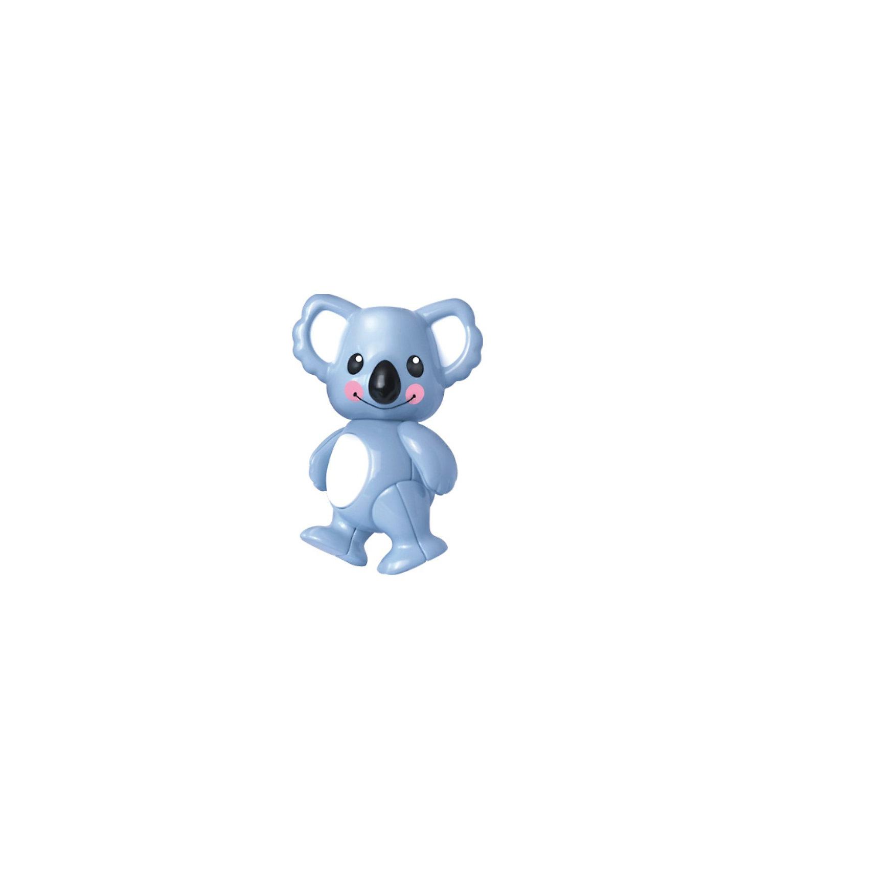 Фигурка Коала, Первые друзья, TOLOФигурка Коала, Первые друзья, TOLO (ТОЛО) – это забавная фигурка, которая составит малышам компанию в познании окружающего мира.<br>Симпатичная улыбающаяся коала с розовыми щечками станет верный другом вашего ребенка. У фигурки щелкающая и подвижная голова и хвост, подвижные лапы. Коала может принимать различные позы: стоять, сидеть. Игрушка способствует развитию фантазии и воображения, помогает формировать первые навыки сюжетно-ролевой игры, знакомит ребенка с животными. <br>Игрушки Толо производятся из пластика самого высокого качества и гипоаллергенных красителей. Они абсолютно безопасны для малышей, не бьются, не ломаются, крепкие и прочные.<br><br>Дополнительная информация:<br><br>- Размер: 6 х 9 х 7 см.<br>- Материал: высококачественный пластик<br><br>Фигурка Коала, Первые друзья, TOLO (ТОЛО) - обязательно понравится Вашему малышу.<br><br>Фигурку Коала, Первые друзья, TOLO (ТОЛО) можно купить в нашем интернет-магазине.<br><br>Ширина мм: 70<br>Глубина мм: 110<br>Высота мм: 60<br>Вес г: 64<br>Возраст от месяцев: 12<br>Возраст до месяцев: 60<br>Пол: Унисекс<br>Возраст: Детский<br>SKU: 3688995