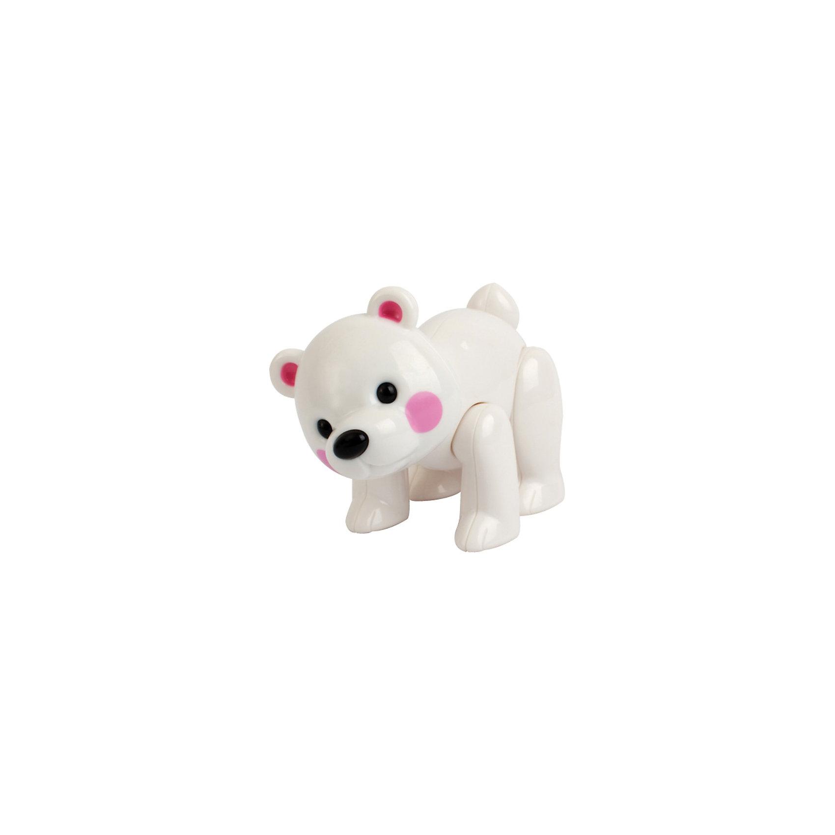 TOLO Фигурка Белый мишка, Первые друзья, TOLO развивающие игрушки tolo toys тюлень