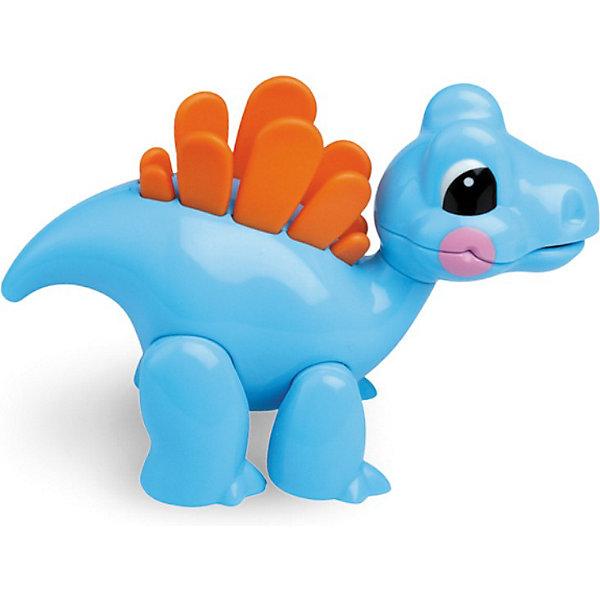 Фигурка Стегозавр, Первые друзья, TOLOИгровые фигурки животных<br>Фигурка Стегозавр, Первые друзья, TOLO (ТОЛО) – эта яркая красочная игрушка привлечет внимание Вашего малыша и не позволит ему скучать.<br>Фигурка Стегозавр с прорезывателем для зубов! Фигурка Стегозавр из серии Первые друзья английского бренда TOLO создаст малышам прекрасное настроение и познакомит их с миром доисторических динозавров. У фигурки щелкающая и подвижная голова, мягкие контрастные спинные пластины. Подвижные лапы позволяют задавать игрушке различные положения. Игрушка способствует развитию координации движений, моторики, распознаванию цветов и звуков, помогает формировать первые навыки сюжетно-ролевой игры. <br>Игрушки Толо производятся из пластика самого высокого качества и гипоаллергенных красителей. Они абсолютно безопасны для малышей, не бьются, не ломаются, крепкие и прочные.<br><br>Дополнительная информация:<br><br>- Размер: 12 х 6 х 9 см.<br>- Материал: высококачественный пластик<br><br>Фигурка Стегозавр, Первые друзья, TOLO (ТОЛО) - обязательно понравится Вашему малышу.<br><br>Фигурку Стегозавр, Первые друзья, TOLO (ТОЛО) можно купить в нашем интернет-магазине.<br>Ширина мм: 120; Глубина мм: 60; Высота мм: 90; Вес г: 97; Возраст от месяцев: 12; Возраст до месяцев: 60; Пол: Унисекс; Возраст: Детский; SKU: 3689007;