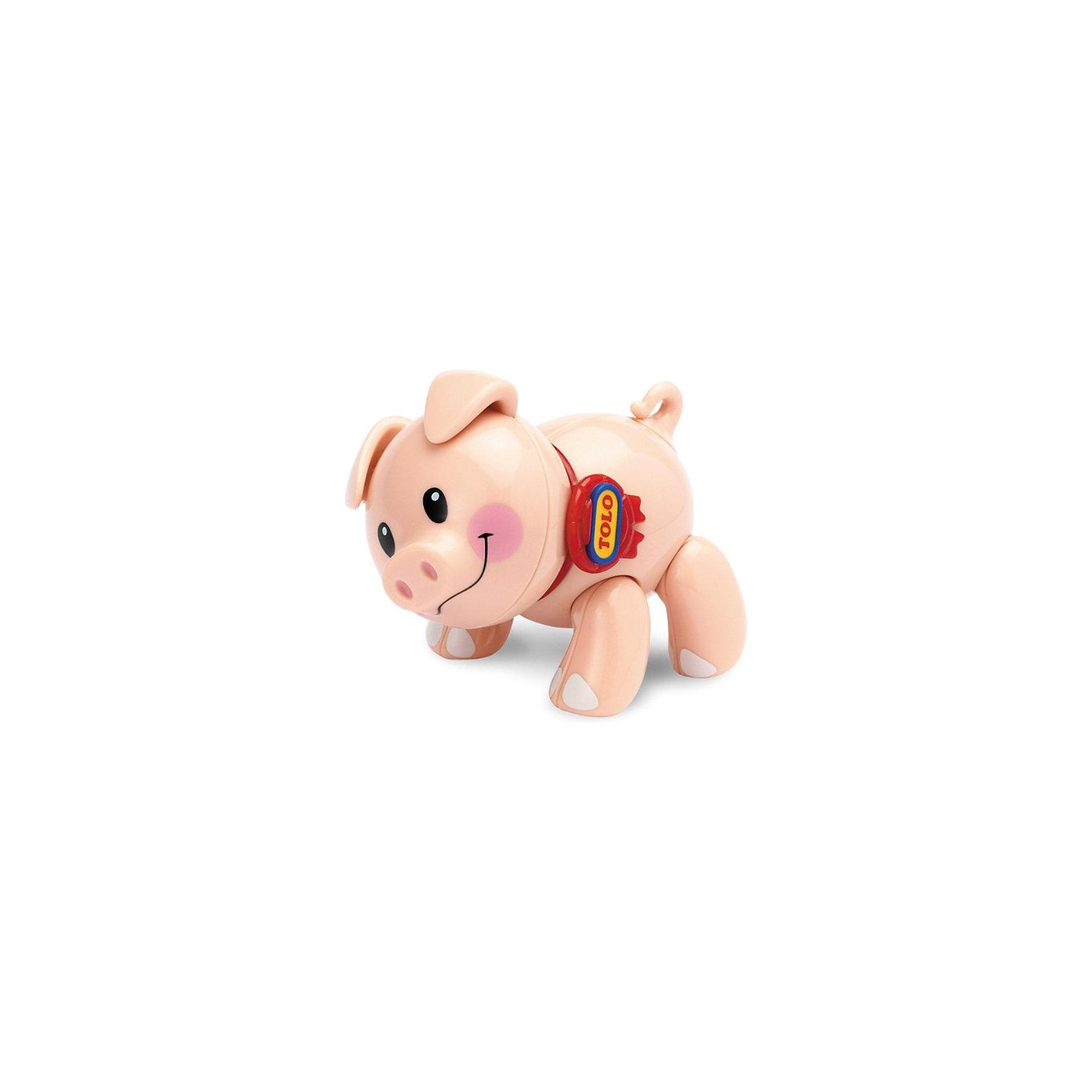 TOLO Фигурка Поросенок, Первые друзья, TOLO развивающие игрушки tolo toys белый мишка