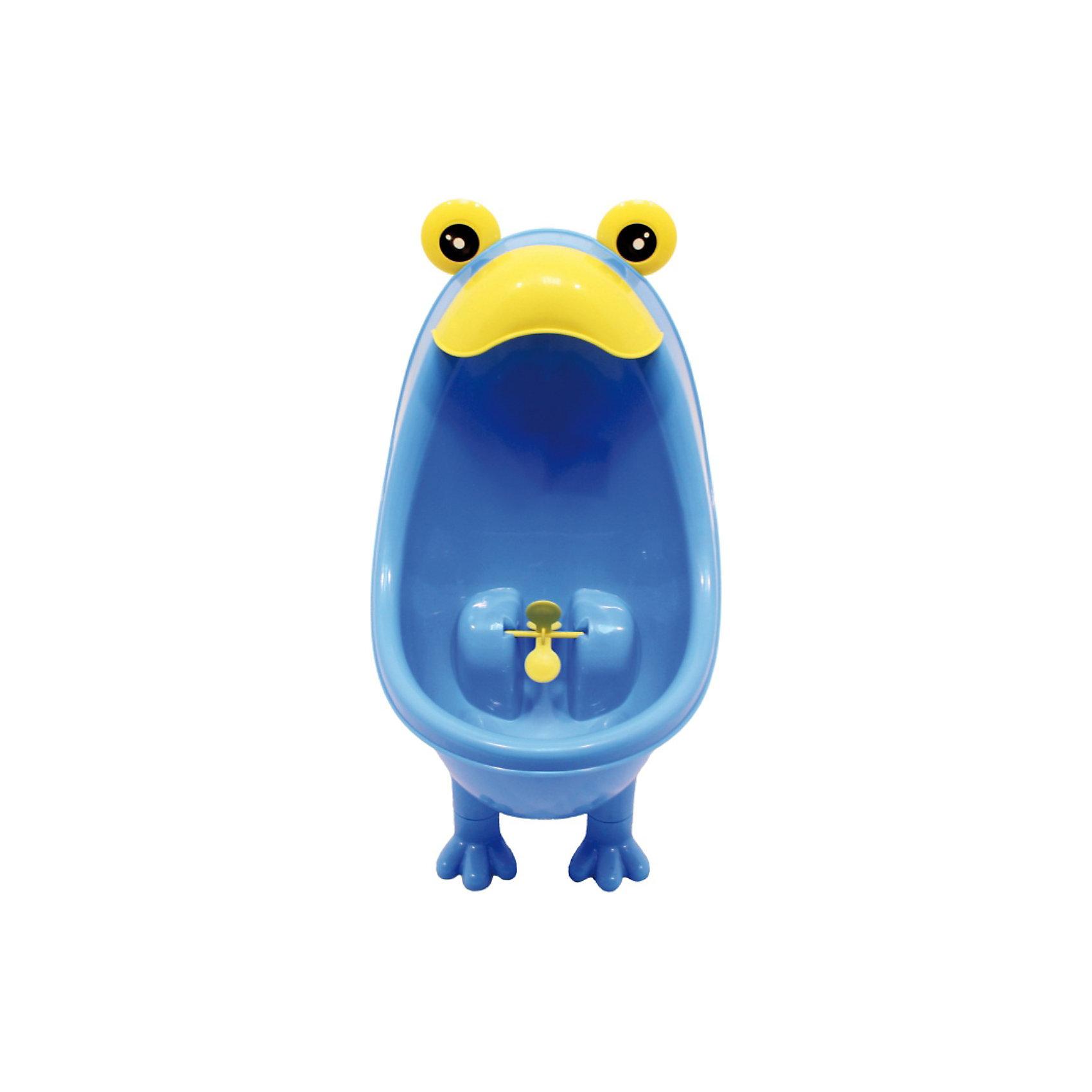 Писсуар для мальчиков, ROXY-KIDS, в ассортиментеГоршки, сиденья для унитаза, стульчики-подставки<br>С помощью писсуара для мальчиков, ROXY-KIDS, в ассортименте мальчик сможет ходить по-маленькому как большой. Он помогает приучить мальчиков с самого раннего возраста к хождению во взрослый туалет и удовлетворяет потребность малышей во всем подражать родителям. <br>Писсуар можно как закрепить на стене на присоске, так и просто поставить на пол (у писсуара есть маленькие ножки). Он изготовлен из безопасного и качественного пластика. <br>Небольшие размеры писсуара позволяют повесить его в любой ванной комнате. Писсуар оснащен специальным прицелом, чтобы малыш попал наверняка. Прицел выполнен в виде пропеллера, что привлекает внимание малыша и повышает интерес к процессу.<br><br>Дополнительная информация:<br><br>- размер: 36х22см<br>- материал: пластик<br>- размеры упаковки: 22 х 22 х 36 см<br><br>ВНИМАНИЕ: Данный артикул представлен в разных цветовых исполнениях (белый и голубой). К сожалению, заранее выбрать определенный цвет невозможно. При заказе нескольких писсуаров возможно получение одинаковых.<br><br>Писсуар для мальчиков, ROXY-KIDS (Рокси), в ассортименте можно купить в нашем магазине.<br><br>Ширина мм: 220<br>Глубина мм: 220<br>Высота мм: 360<br>Вес г: 500<br>Возраст от месяцев: 12<br>Возраст до месяцев: 60<br>Пол: Мужской<br>Возраст: Детский<br>SKU: 3694570