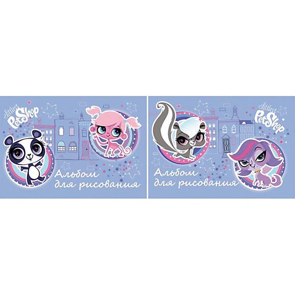 Альбом для рисования, 40 листов, Littlest Pet ShopLittlest Pet Shop<br>Альбом для рисования, 40 листов, Littlest Pet Shop (Литлест Пет Шоп) - прекрасный подарок для раскрытия творческого потенциала. Рисование - это прекрасный досуг, который способствует развитию воображения,  восприятия,  мышления, логики,  мелкой моторики,  усидчивости и понимания формы и цветов.<br><br><br>Дополнительная информация:<br><br>- Количество листов: 40<br>- Вес: 321 г.<br>- Серия: Littlest Pet Shop (Литлест Пет Шоп)<br>- Размеры: 205 х 290 х 8 мм<br><br>Альбом для рисования, 40 листов, Littlest Pet Shop (Литлест Пет Шоп) можно купить в нашем магазине.<br>Ширина мм: 205; Глубина мм: 290; Высота мм: 8; Вес г: 321; Возраст от месяцев: 48; Возраст до месяцев: 84; Пол: Женский; Возраст: Детский; SKU: 3702871;