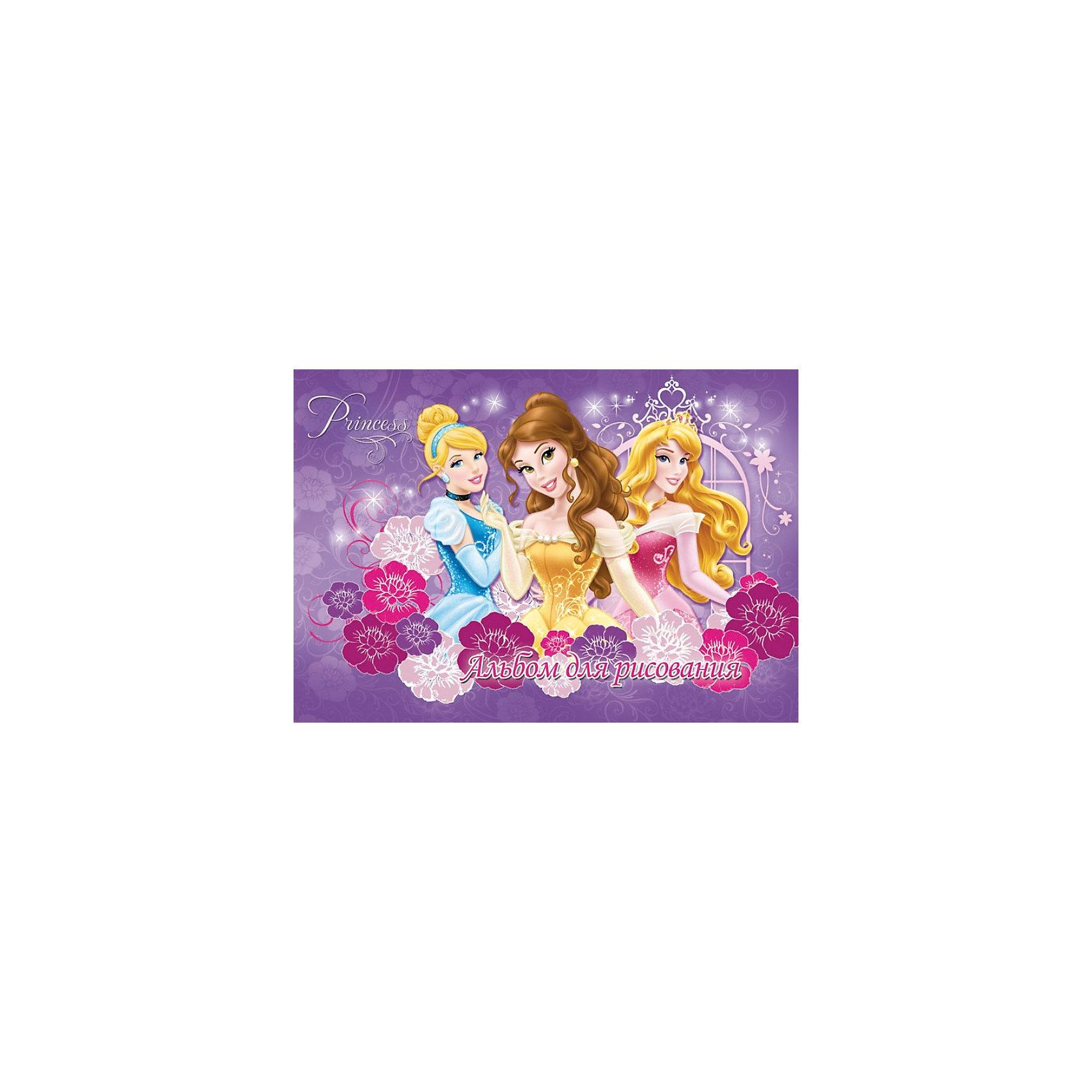 Альбом для рисования, 40 листов, Принцессы ДиснейАльбом для рисования, 40 листов, Disney Princess (Принцессы Дисней) - прекрасный подарок для раскрытия творческого потенциала. Рисование - это прекрасный досуг, который способствует развитию воображения,  восприятия,  мышления, логики,  мелкой моторики,  усидчивости и понимания формы и цветов.<br><br><br>Дополнительная информация:<br><br>- Количество листов: 40<br>- Вес: 257 г.<br>- Серия: Disney Princess (Принцессы Дисней)<br>- Размеры: 290 х 205 х 8 мм<br><br>Альбом для рисования, 40 листов, Disney Princess (Принцессы Дисней) можно купить в нашем магазине.<br><br>Ширина мм: 290<br>Глубина мм: 205<br>Высота мм: 8<br>Вес г: 257<br>Возраст от месяцев: 48<br>Возраст до месяцев: 84<br>Пол: Женский<br>Возраст: Детский<br>SKU: 3702877