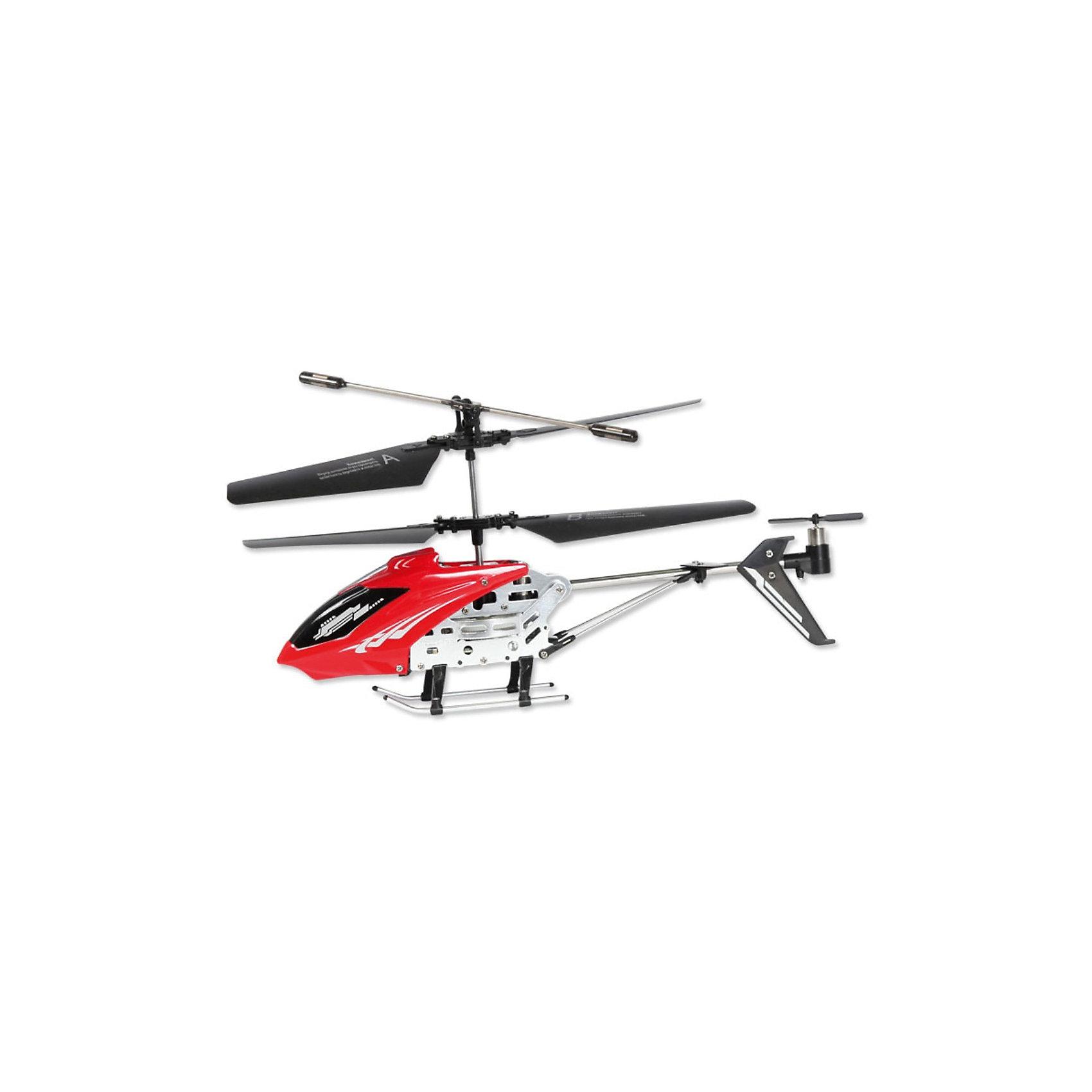 Вертолет IR -107, на и/к управлении, Mioshi TechВертолет Mioshi IR-107 оснащен гироскопом и 3-хканальной системой дистанционного управления, благодаря чему модель стабильна в управлении. Движения вертолета плавные, без вращения на взлете. Наличие встроенного гироскопа делает полет сбалансированным и не позволяет сбиться с намеченного курса. Такие вертолеты относятся к усовершенствованным радиоуправляемым игрушкам, пилотировать которые могут даже дети.<br>За счет небольшого веса (всего 40 г) и легкой металлической конструкции вертолет не получает серьезных повреждений, которые возможны при первых запусках. Управлять вертолетом возможно в следующих направлениях: вверх-вниз, движение влево-вправо, движение вперед-назад.<br>В воздухе могут одновременно парить несколько вертолетов., что возможно благодаря разным каналам, которые соединяют вертолет и пульт.<br> <br>Дополнительная информация:<br><br>- Время полета: 6,5 – 7,5 мин на расстоянии до 10 м<br>- Максимальная скорость: 10 км/ч.<br>- Время зарядки: 48-51 мин<br>- Батарея: 3.7V 180mAh <br>- Зарядка от USB-порта, зарядный кабель в комплекте<br>- Возможность зарядки от пульта дистанционного управления<br>- Питание пульта ДУ: 6 батареек типа AA (приобретаются отдельно)<br>- Размеры вертолета: 220 x 38 x 98 мм.<br>- Диаметр несущего винта: 187 мм.<br>- Вес упаковки: 720 г.<br>- Размеры упаковки: 510 х 190 х 85 мм<br>- Комплект поставки: собранный, полностью готовый к полету вертолет, инфракрасный пульт ДУ, кабель USB для зарядки, два запасных хвостовых винта, четыре запасные лопасти, два запасных крепления стабилизатора, набор шестеренок, инструкция<br>- Материал: высококачественный пластик, металл<br><br>Вертолет IR -107,  красный, на и/к управлении, Mioshi Tech  можно купить в нашем магазине.<br><br>Ширина мм: 510<br>Глубина мм: 190<br>Высота мм: 85<br>Вес г: 720<br>Возраст от месяцев: 72<br>Возраст до месяцев: 1188<br>Пол: Мужской<br>Возраст: Детский<br>SKU: 3703437