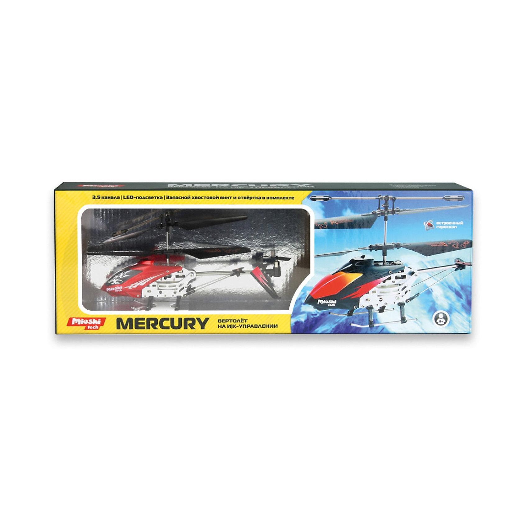 """Вертолет """"Mercury"""", на и/к управлении, Mioshi Tech от myToys"""