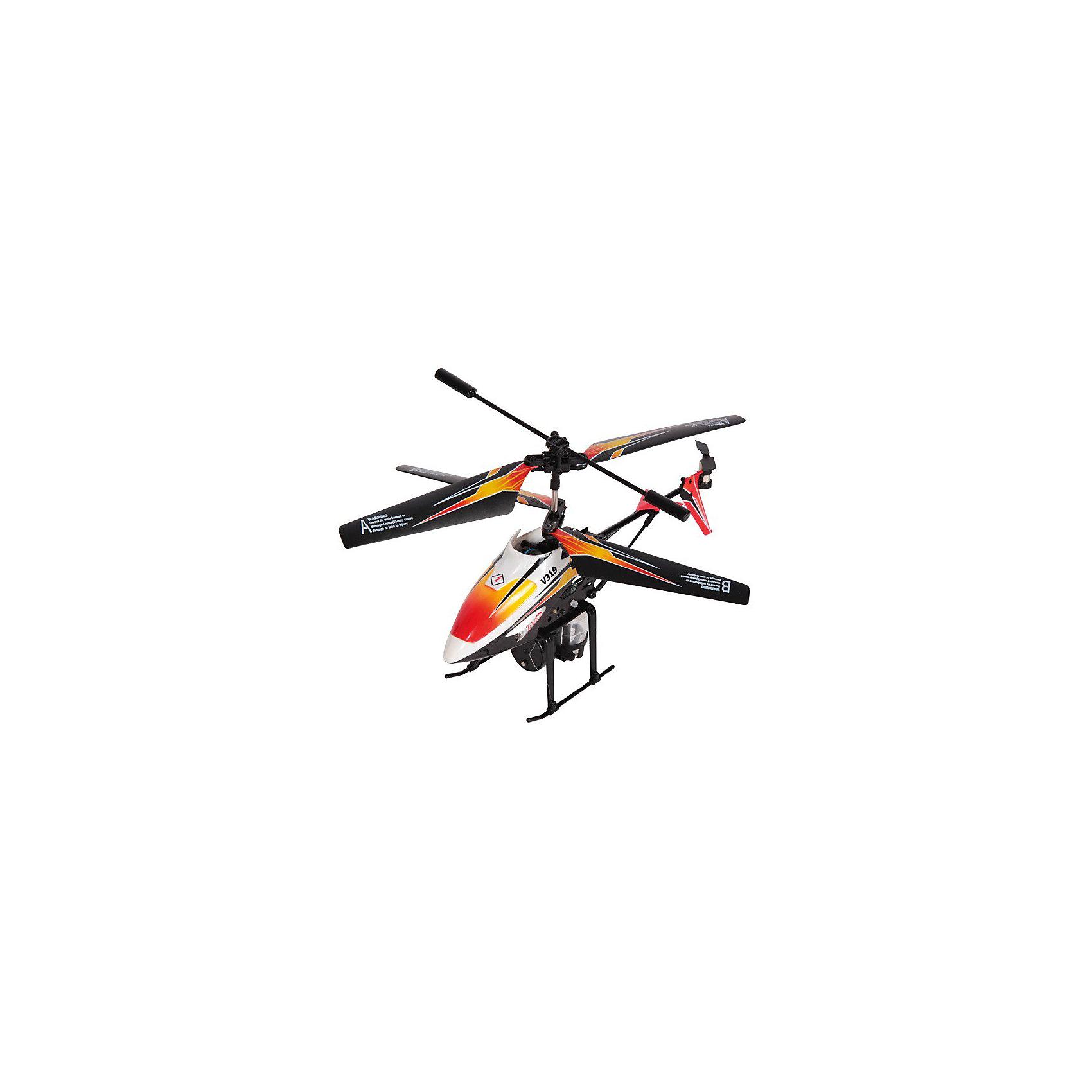 Вертолет с водометом Splash, на и/к управлении, Mioshi TechПочувствуйте себя пилотом настоящего современного вертолёта, который может совершать воздушные атаки водой! Он снабжен гироскопом, который обеспечивает ему уверенный полёт. Похвастайтесь перед друзьями своим умением виртуозно управлять вертолётом. В этом вам поможет функция автопилот. При нажатии кнопки Demo игрушка начнёт выполнять запрограммированный ряд действий. И даже если вы новичок в полетах и первый раз держите в руках пульт управления, то об этом никто не догадается! Противоударный корпус защитит вертолёт от падений и столкновений с твёрдыми поверхностями. Посмотрите, как далеко сможет он улететь!<br><br>Дополнительная информация:<br><br>- Комплект поставки: собранный, полностью готовый к полету вертолет, пульт ДУ, две запасные лопасти, два хвостовых винта, инструкция, USB-кабель, флакон для заправки водомета<br>- 3,5 канала<br>- LED (светодиодная) подсветка корпуса<br>- Гироскоп<br>- Автопилот<br>- Время работы от аккумулятора: 5 - 6 мин.<br>- Радиус действия: до 10 - 15 м.<br>- Время зарядки: 60 минут<br>- Длина вертолета: 220 мм.<br>- Диаметр несущего винта: 175 мм.<br>- Размеры упаковки: 335 х 285 х 90 мм<br>- Вес: 611 г.<br>- Питание устройства: аккумулятор с зарядкой от пульта ДУ или USB-порта компьютера<br>- Питание пульта ДУ: 6 батареек типа AA (приобретаются отдельно)<br>- Материал: высококачественный пластик, металл<br><br>Вертолет с водометом Splash, на и/к управлении, Mioshi Tech  можно купить в нашем магазине.<br><br>Ширина мм: 335<br>Глубина мм: 285<br>Высота мм: 90<br>Вес г: 611<br>Возраст от месяцев: 72<br>Возраст до месяцев: 1188<br>Пол: Мужской<br>Возраст: Детский<br>SKU: 3703441