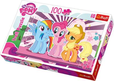 Пазл My little Pony , 100 деталей, Trefl