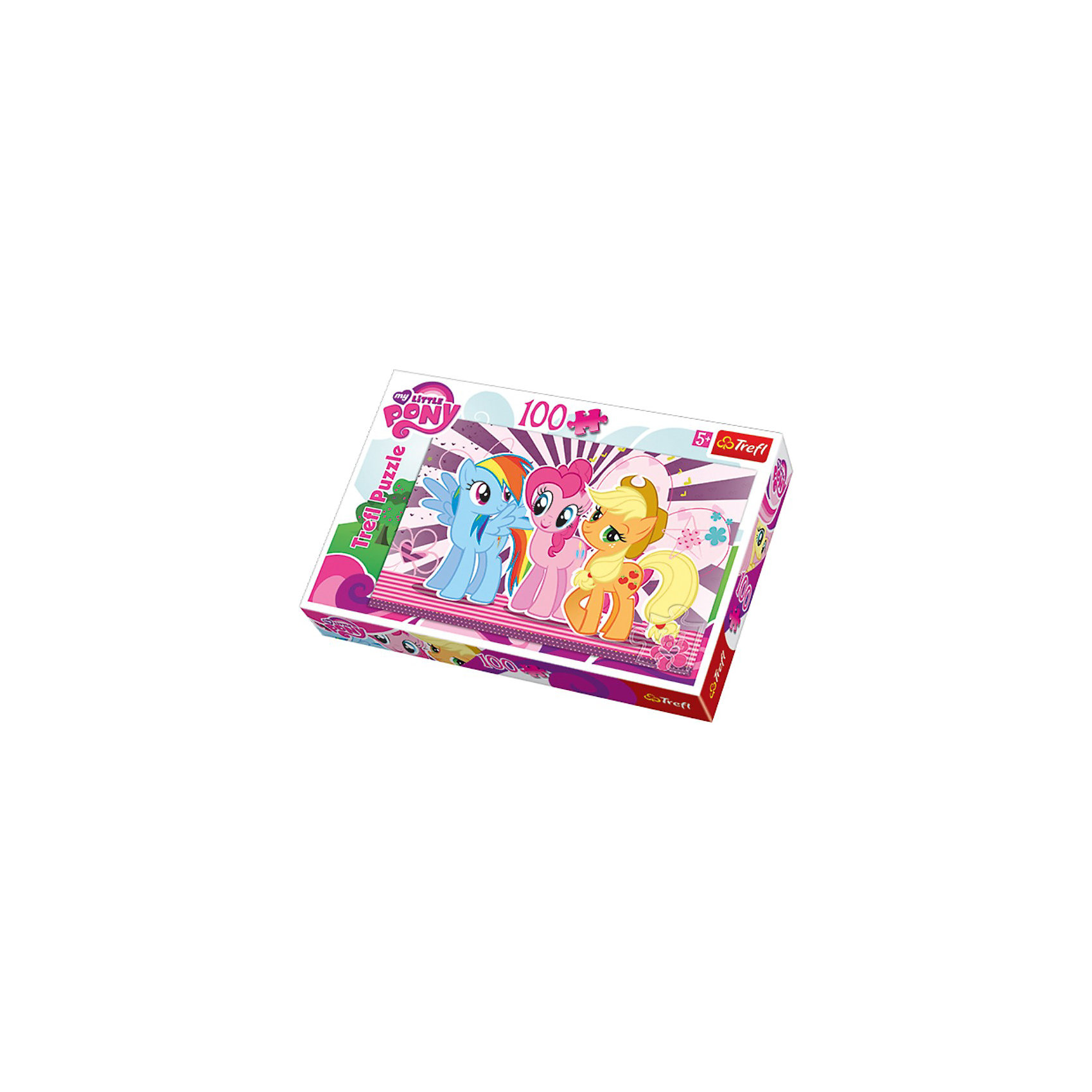 Trefl Пазл My little Pony, 100 деталей, Trefl trefl пазл летающий мэтр