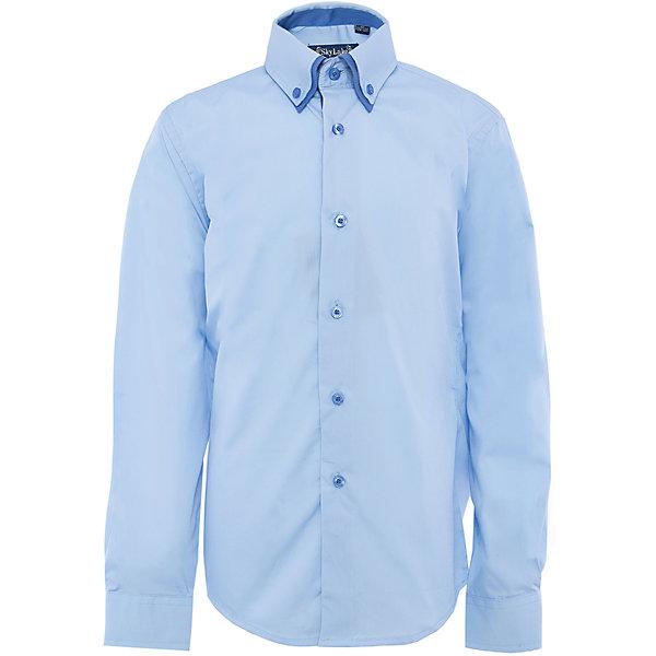Рубашка для мальчика SkylakeБлузки и рубашки<br>Сорочка классическая для мальчика<br>Состав:<br>80% хлопок, 20% п/э<br><br>Ширина мм: 174<br>Глубина мм: 10<br>Высота мм: 169<br>Вес г: 157<br>Цвет: голубой<br>Возраст от месяцев: 72<br>Возраст до месяцев: 84<br>Пол: Мужской<br>Возраст: Детский<br>Размер: 122,158,146,128,134,140,152<br>SKU: 3708461