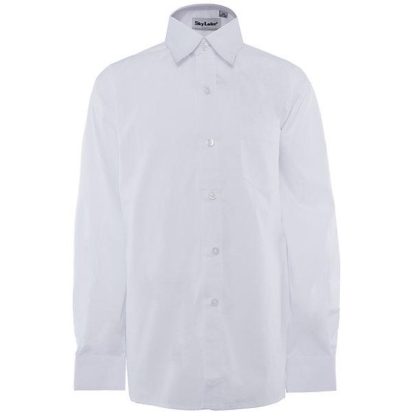 Купить Рубашка для мальчика Skylake, Россия, белый, 140, 146, 122, 134, 128, 152, 158, Мужской