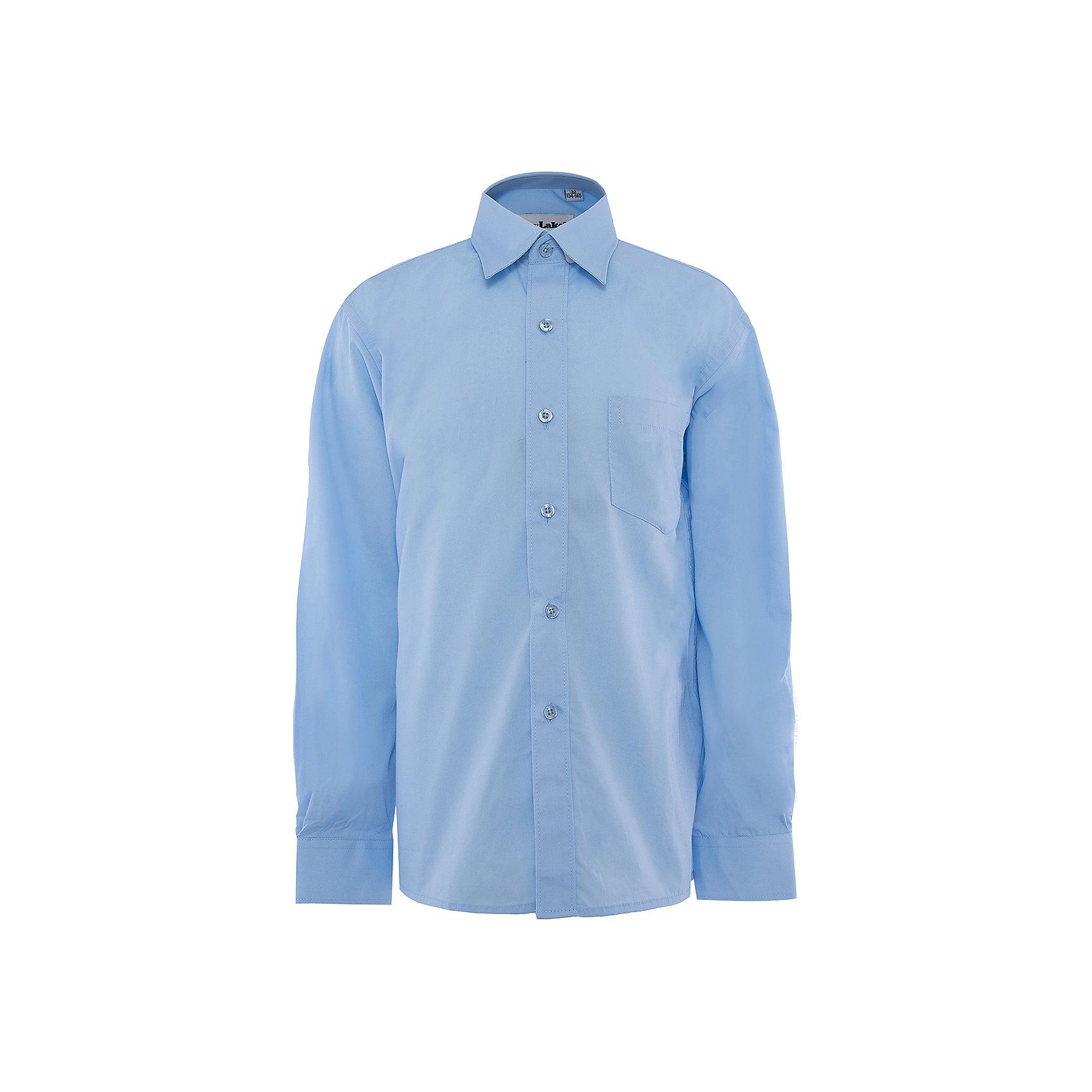 Рубашка для мальчика SkylakeБлузки и рубашки<br>Сорочка классическая для мальчика<br>Состав:<br>80% хлопок, 20% п/э<br><br>Ширина мм: 174<br>Глубина мм: 10<br>Высота мм: 169<br>Вес г: 157<br>Цвет: голубой<br>Возраст от месяцев: 72<br>Возраст до месяцев: 84<br>Пол: Мужской<br>Возраст: Детский<br>Размер: 122,140,158,152,146,134,128<br>SKU: 3708489