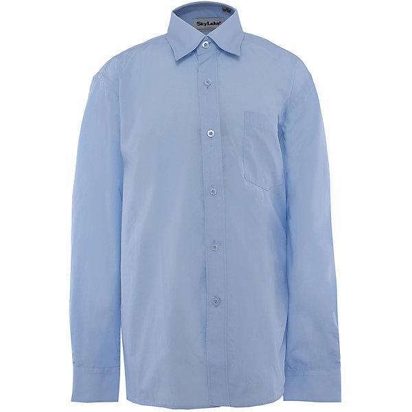 Рубашка для мальчика SkylakeБлузки и рубашки<br>Сорочка классическая для мальчика<br>Состав:<br>80% хлопок, 20% п/э<br><br>Ширина мм: 174<br>Глубина мм: 10<br>Высота мм: 169<br>Вес г: 157<br>Цвет: синий<br>Возраст от месяцев: 108<br>Возраст до месяцев: 120<br>Пол: Мужской<br>Возраст: Детский<br>Размер: 140,128,146,158,152,134<br>SKU: 3708496