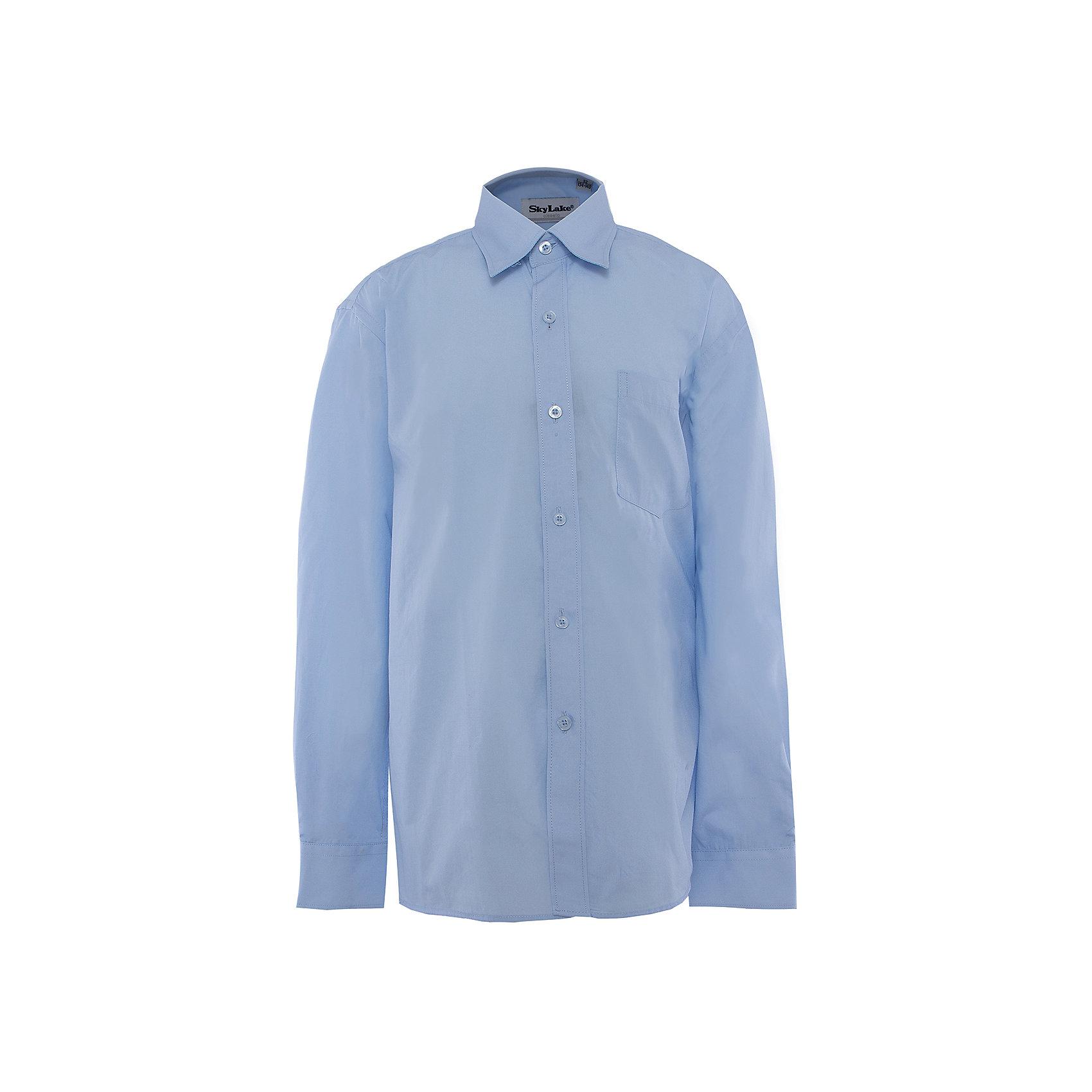 Рубашка для мальчика SkylakeБлузки и рубашки<br>Сорочка классическая для мальчика<br>Состав:<br>80% хлопок, 20% п/э<br><br>Ширина мм: 174<br>Глубина мм: 10<br>Высота мм: 169<br>Вес г: 157<br>Цвет: небесный<br>Возраст от месяцев: 108<br>Возраст до месяцев: 120<br>Пол: Мужской<br>Возраст: Детский<br>Размер: 140,146,134,158,152,128<br>SKU: 3708496