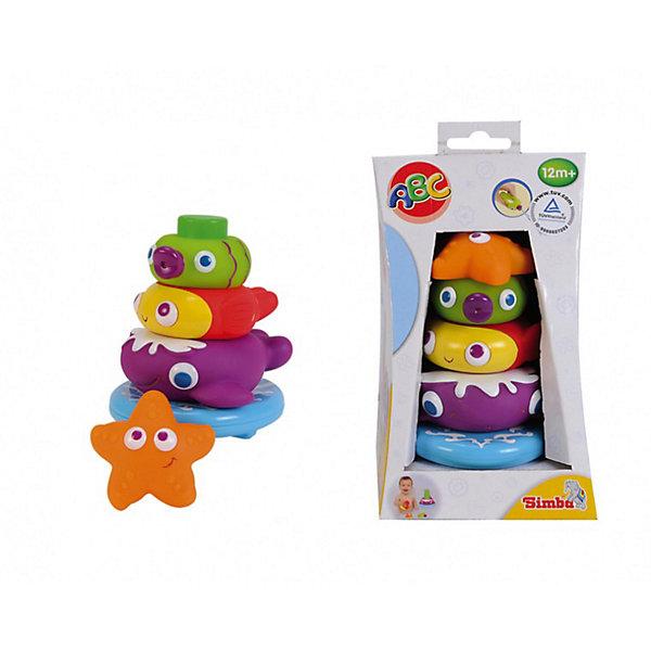 Пирамидка-брызгалка с животными, 13,5 см, SimbaИгрушки для ванной<br>Характеристики:<br><br>• можно использовать как брызгалку;<br>• высота игрушки: 13,5 см;<br>• материал: резина;<br>• размер упаковки: 14,5х13х13 см;<br>• вес: 279 грамм;<br>• страна бренда: Германия.<br><br>Яркая пирамидка превратит купание малыша в веселую игру. Игрушка состоит из основания и четырех элементов, выполненных в виде морских животных: рыбки, кит, морская звезда. Элементы крепятся друг к другу при помощи присосок. Игрушку можно прикрепить к стене. <br><br>Три элемента ребенок сможет использовать как забавные брызгалки. Игра с пирамидкой поможет развить мелкую моторику, логическое мышление, фантазию и координацию движений.<br><br>Пирамидку с животными, 13,5 см, Simba (Симба) можно купить в нашем интернет-магазине.<br><br>Ширина мм: 120<br>Глубина мм: 120<br>Высота мм: 210<br>Вес г: 300<br>Возраст от месяцев: 12<br>Возраст до месяцев: 2147483647<br>Пол: Унисекс<br>Возраст: Детский<br>SKU: 3709518