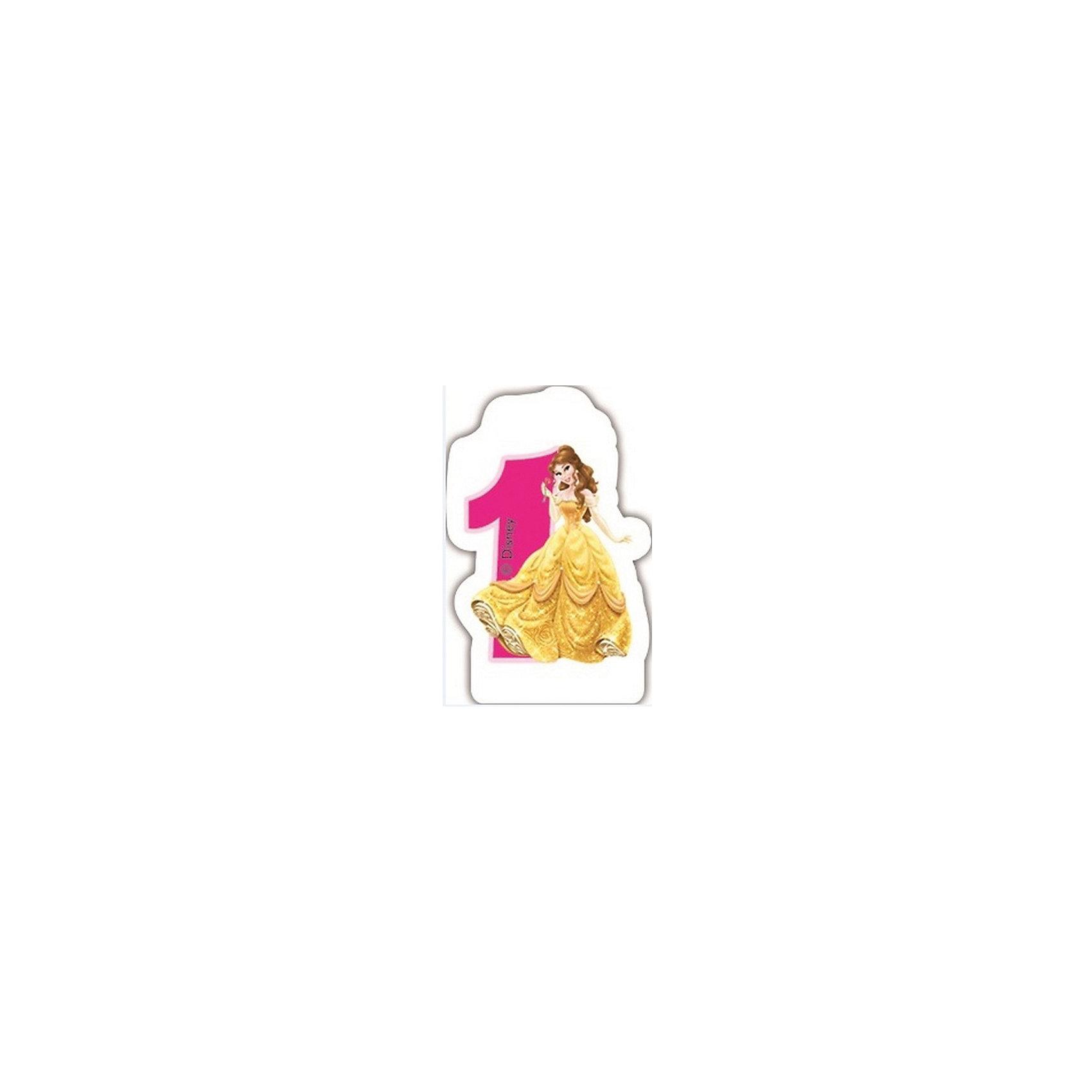 Объемная свечка Принцессы 1 год , Принцессы ДиснейОбъемная свечка Принцессы 1 год, Disney Princess (Принцессы Дисней) украсит праздничный торт Вашей малышки на ее первом Дне рождения. Свечка выполнена в форме цифры 1 с фигуркой сказочной принцессы из диснеевских мультфильмов. Яркая оригинальная свечка поможет создать волшебную атмосферу и уют на любимом детском празднике.<br><br>Дополнительная информация:<br><br>- Материал: парафин. <br>- Размер упаковки: 8 х 2 х 12 см.<br>- Вес: 50 гр.<br><br>Объемную свечку Принцессы 1 год, Disney Princess можно купить в нашем интернет-магазине.<br><br>Ширина мм: 80<br>Глубина мм: 20<br>Высота мм: 120<br>Вес г: 50<br>Возраст от месяцев: 12<br>Возраст до месяцев: 156<br>Пол: Женский<br>Возраст: Детский<br>SKU: 3711081