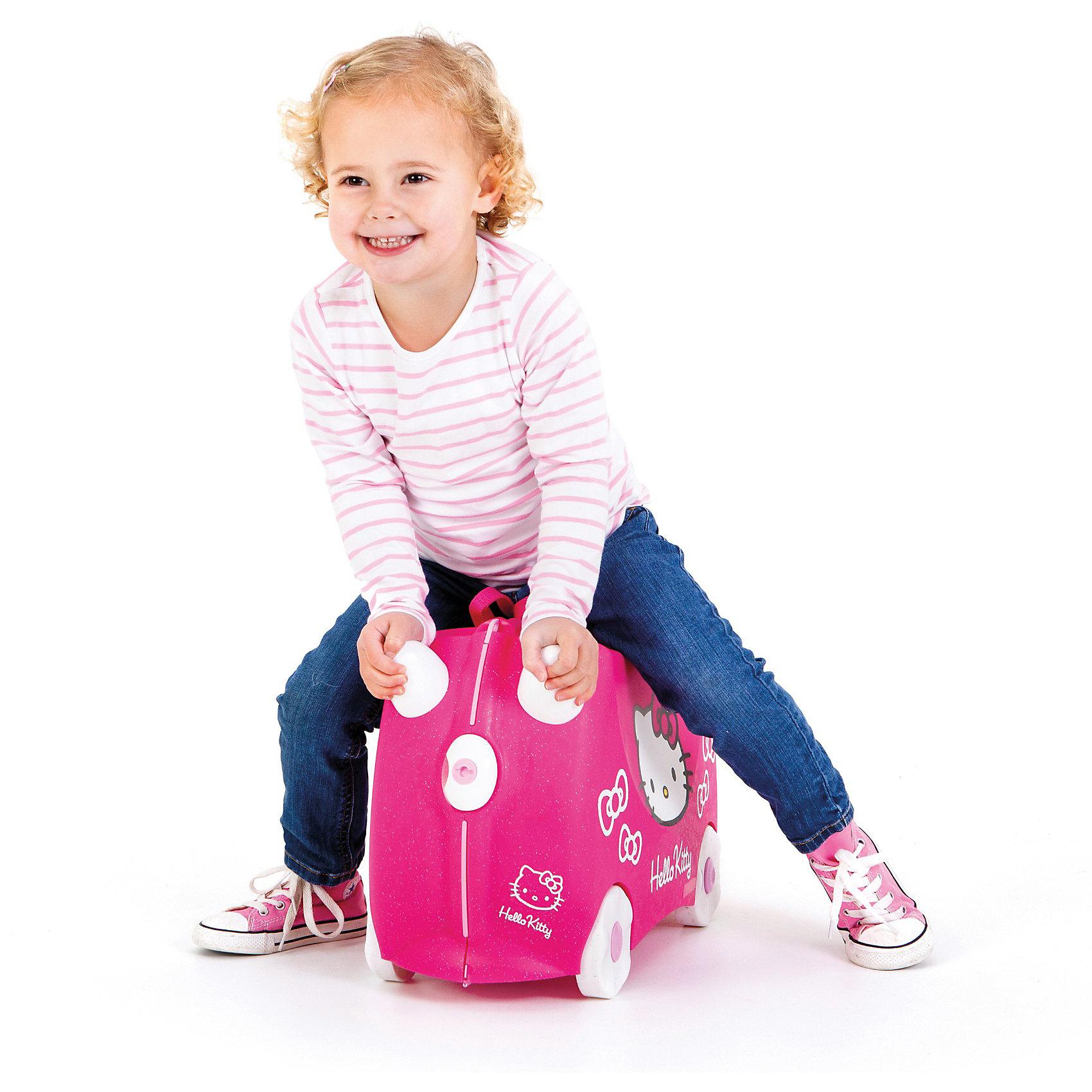 "Чемодан на колесиках ""Hello Kitty"", розовый от myToys"