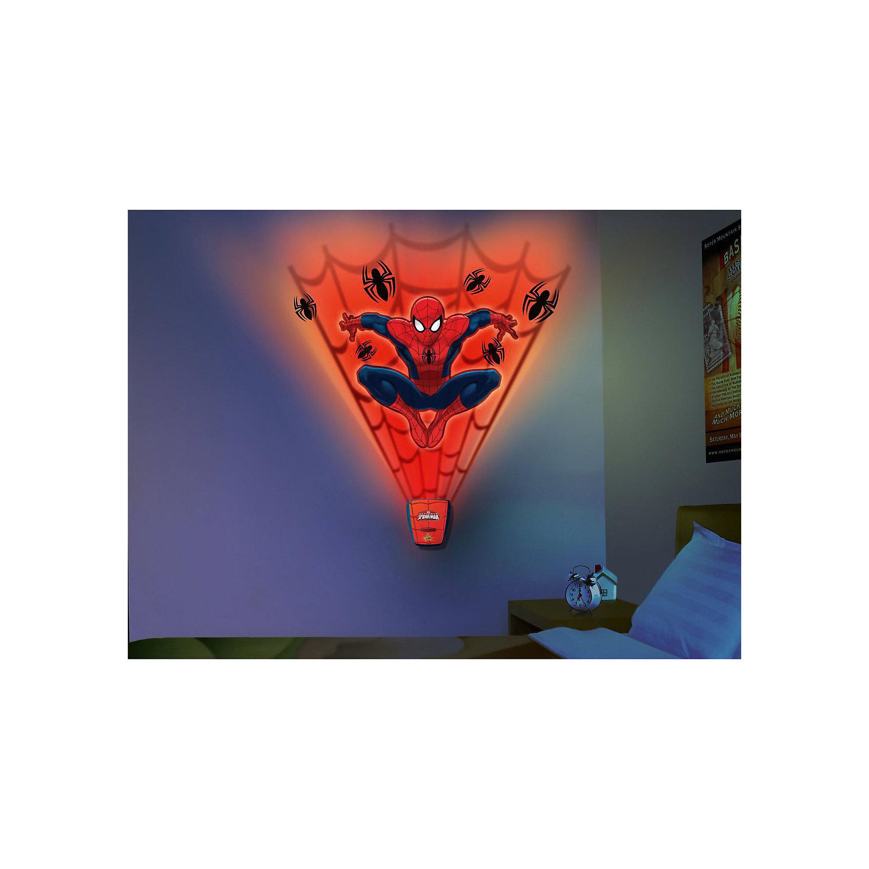 Jazwares Настенный проектор Паутина, Человек-Паук проектор
