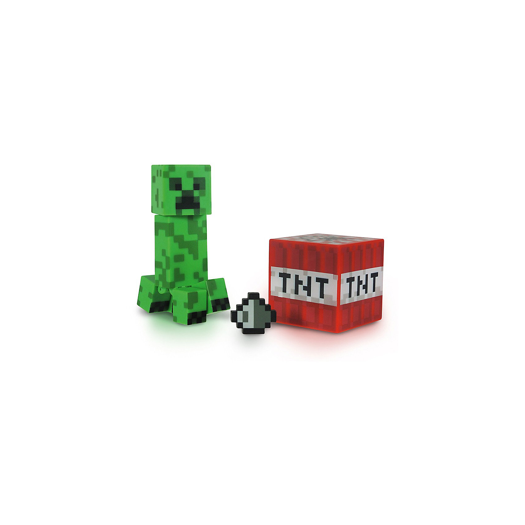 Фигурка Крипер, 8см, MinecraftКоллекционные и игровые фигурки<br>Фигурка Крипер, 8см, Minecraft (Майнкрафт) – это качественно выполненная фигурка враждебного моба-камикадзе из культовой игры Майнкрафт.<br>Игровая фигурка Крипера, которая внешне представляет собой самого примечательного и яркого, по-настоящему характерного для видеоигры Minecraft персонажа, станет отличным оригинальным подарком для любого игрока. Голова и ноги фигурки подвижны, что позволит придавать Криперу различные позы. В комплект входят пиксельный кубик-динамит и дополнительный аксессуар в виде кусочка угля, которые весьма характерны для этого персонажа игры. Ваш ребенок будет часами играть с этой фигуркой, придумывая различные истории.<br><br>Дополнительная информация:<br><br>- В комплекте: фигурка Кипера, пиксельный кубик, дополнительный аксессуар<br>- Материал: высококачественный пластик<br>- Размер: 8 см.<br>- Размер упаковки: 14,5 х 17,5 х 5 см.<br><br>Фигурку Крипер, 8см, Minecraft (Майнкрафт) можно купить в нашем интернет-магазине.<br><br>Ширина мм: 178<br>Глубина мм: 146<br>Высота мм: 40<br>Вес г: 79<br>Возраст от месяцев: 72<br>Возраст до месяцев: 120<br>Пол: Мужской<br>Возраст: Детский<br>SKU: 3712316