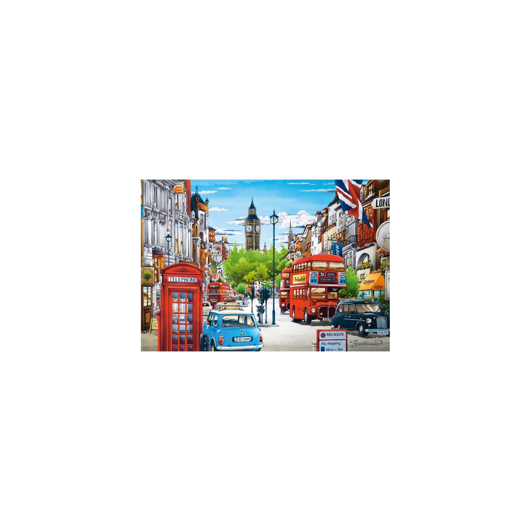 Пазл Лондон, 1500 деталей, CastorlandСборка красочного пазла Лондон Castorland (Касторленд) подарит всей семье не только несколько вечеров совместного творчества, но и принесет пользу для развития ребенка. Подбор деталей друг к другу способствует развитию образного и логического мышления, наблюдательности, мелкой моторики и координации движений руки. Красочный пазл с интересным сюжетом и цветовыми градациями состоит из глянцевых, приятных на ощупь деталей с ровными краями и идеальной проклейкой. Точная нарезка гарантирует легкость стыковки и многократность сборки без потери внешнего вида. Закончив Вы получите изображение красивой улочки Лондона, заполненной автобусами, старинными машинами и домами!<br><br>Дополнительная информация:<br><br>- Количество деталей: 1500;<br>- Детали не будут расслаиваться, что обеспечит долгий срок службы;<br>- Детали идеально подходят друг другу;<br>- Яркий сюжет;<br>- Материал: картон;<br>- Размер собранной картинки: 68 х 47 см;<br>- Вес: 516 г<br><br>Пазл Лондон, 1500 деталей, Castorland (Касторленд) можно купить в нашем интернет-магазине.<br><br>Ширина мм: 350<br>Глубина мм: 250<br>Высота мм: 50<br>Вес г: 500<br>Возраст от месяцев: 168<br>Возраст до месяцев: 1188<br>Пол: Унисекс<br>Возраст: Детский<br>Количество деталей: 1500<br>SKU: 3717127