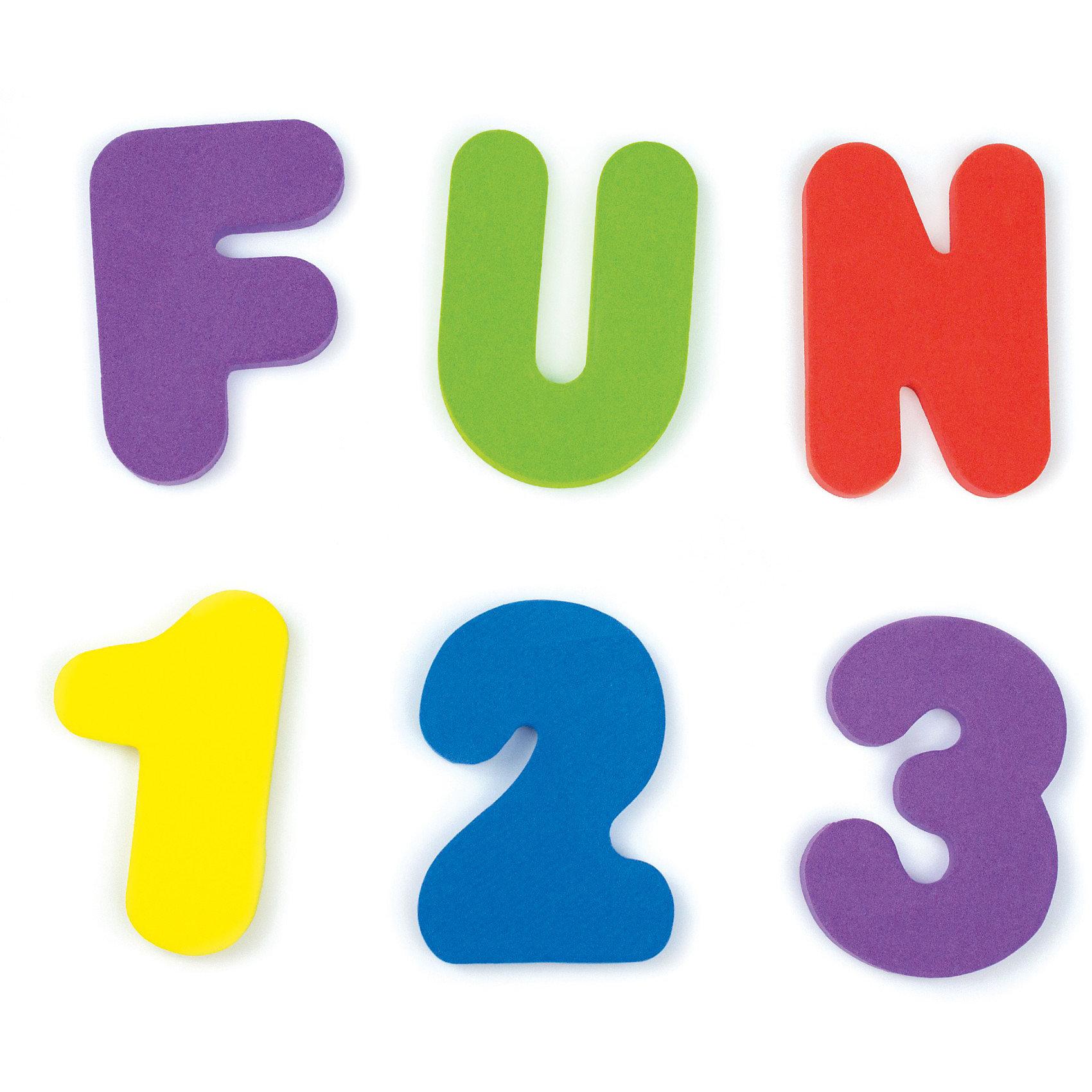 Игрушка для ванной Буквы и Цифры от 24мес, Munchkin от myToys