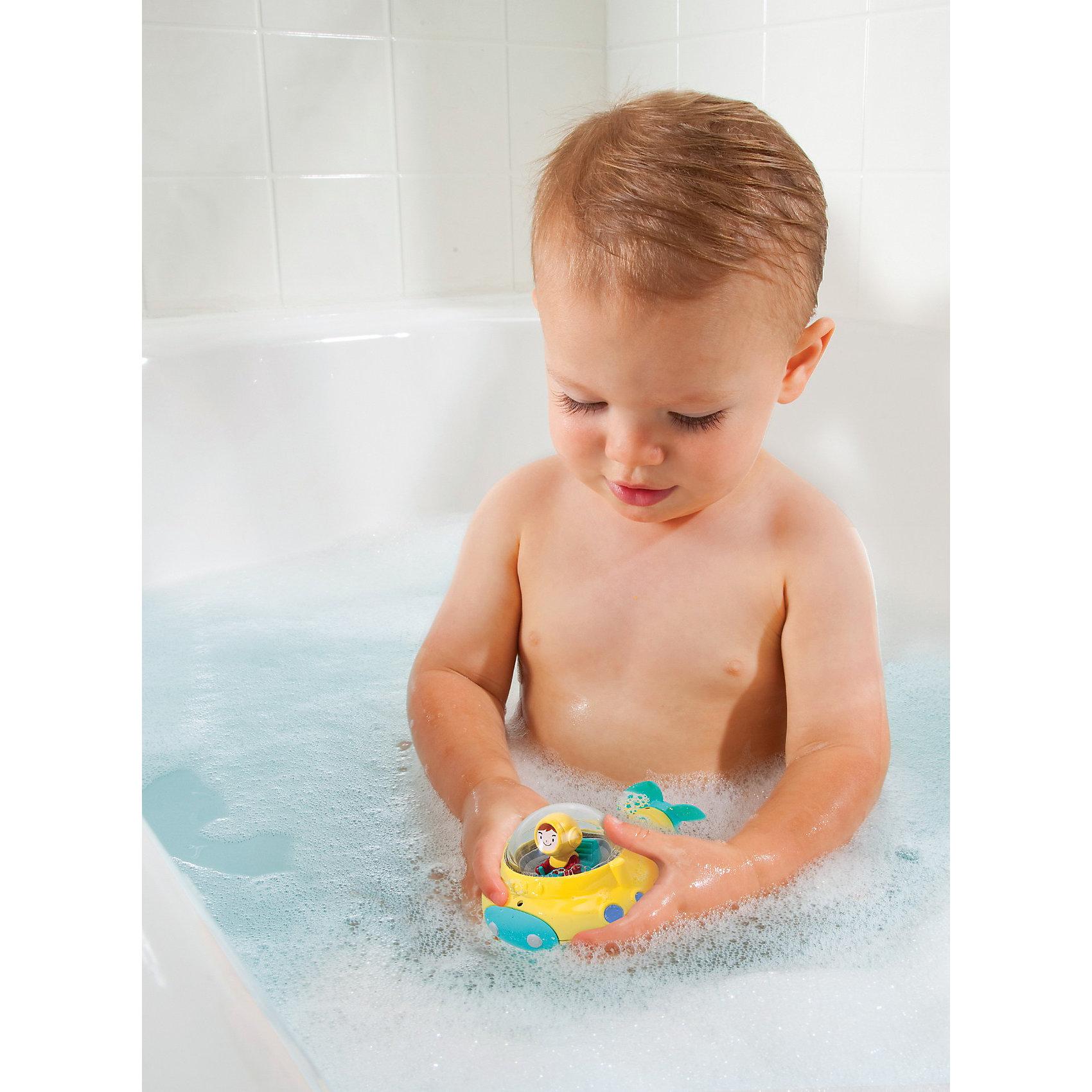 munchkin Игрушка для ванной Подводная лодка от 12мес., Munchkin munchkin игрушка для ванной мячик