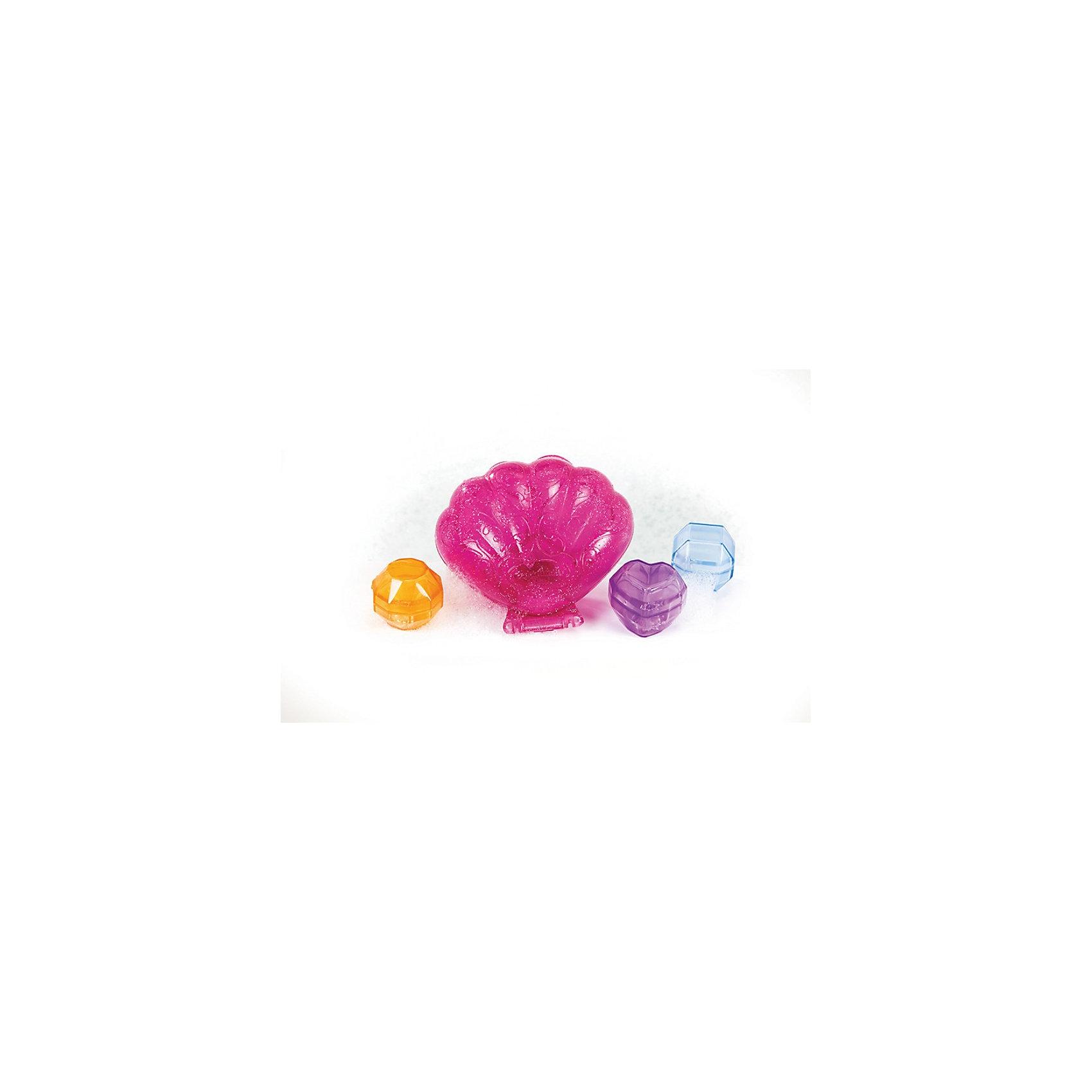Игрушка для ванны Ракушка с весёлыми кристаллами от 18мес, MunchkinИгровые наборы<br>Каждая маленькая девочка мечтает о сверкающих драгоценностях и ювелирных изделиях.  Взяв в руки ракушку Munchkin, Ваша малышка обнаружит настоящие сокровища! Это три драгоценных кристалла, которые гремят и плавают.<br>Этот игровой набор, достойный принцессы, одновременно игрушка-сортер - форма драгоценных камней соответствует таким же в ракушке. Игрушка развивает мелкую моторику, координацию зрения и движения. А также она помогает научиться распознавать формы и цвета, когда ребенок старается правильно уложить камни в соответствующие формы. Ракушка открывается и закрывается и в ней можно хранить камни, когда с ней не играют. <br>Игрушка доставит сказочное удовольствие и вне ванны - какая девочка не любит переодевания и все, что с этим связано!<br><br>Дополнительная информация:&#13;<br>&#13;<br>- материал: пластик&#13;<br>- размеры: 13 х 12 х 5 сп&#13;<br>- в комплекте ракушка и 3 разноцветных драгоценных камня <br>- самоцветы плавают, а внутри у них блестящие погремушки, похожие на сокровища <br>- раковина защелкивается для удобства хранения камней <br>- игрушка-сортировщик помогает освоить понятия формы и цвета<br><br>Игрушку для ванны Ракушка с весёлыми кристаллами от 18мес, Munchkin можно купить в нашем магазине.<br><br>Ширина мм: 40<br>Глубина мм: 152<br>Высота мм: 261<br>Вес г: 167<br>Возраст от месяцев: 12<br>Возраст до месяцев: 48<br>Пол: Женский<br>Возраст: Детский<br>SKU: 3717336