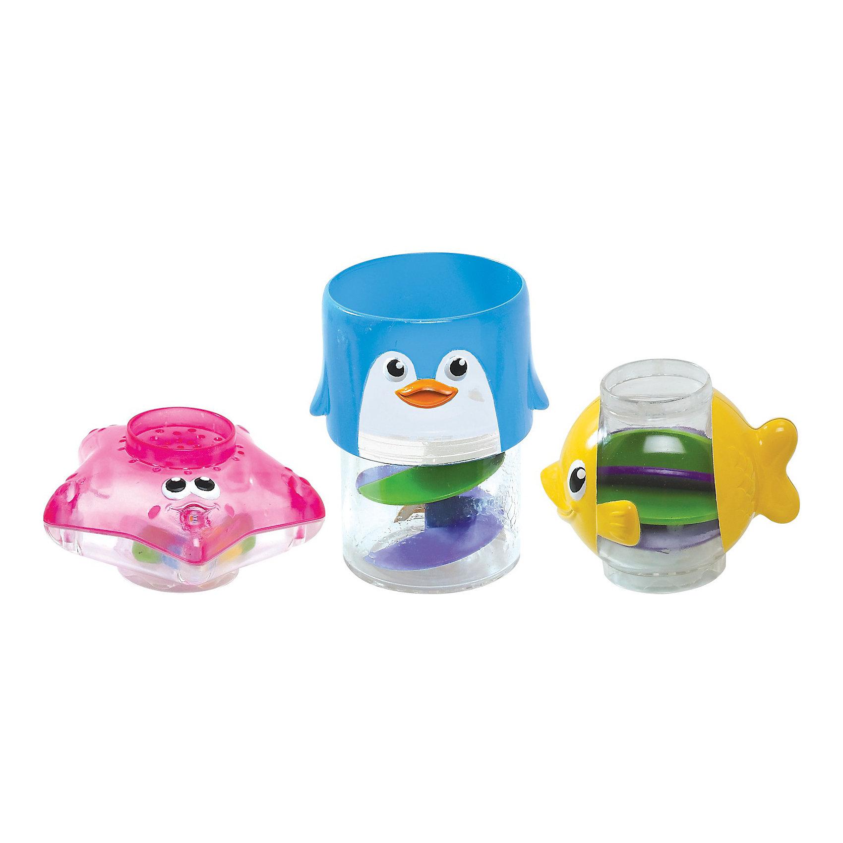 Игрушки для ванной Пирамидка 3 в1 от 6мес., Munchkin от myToys