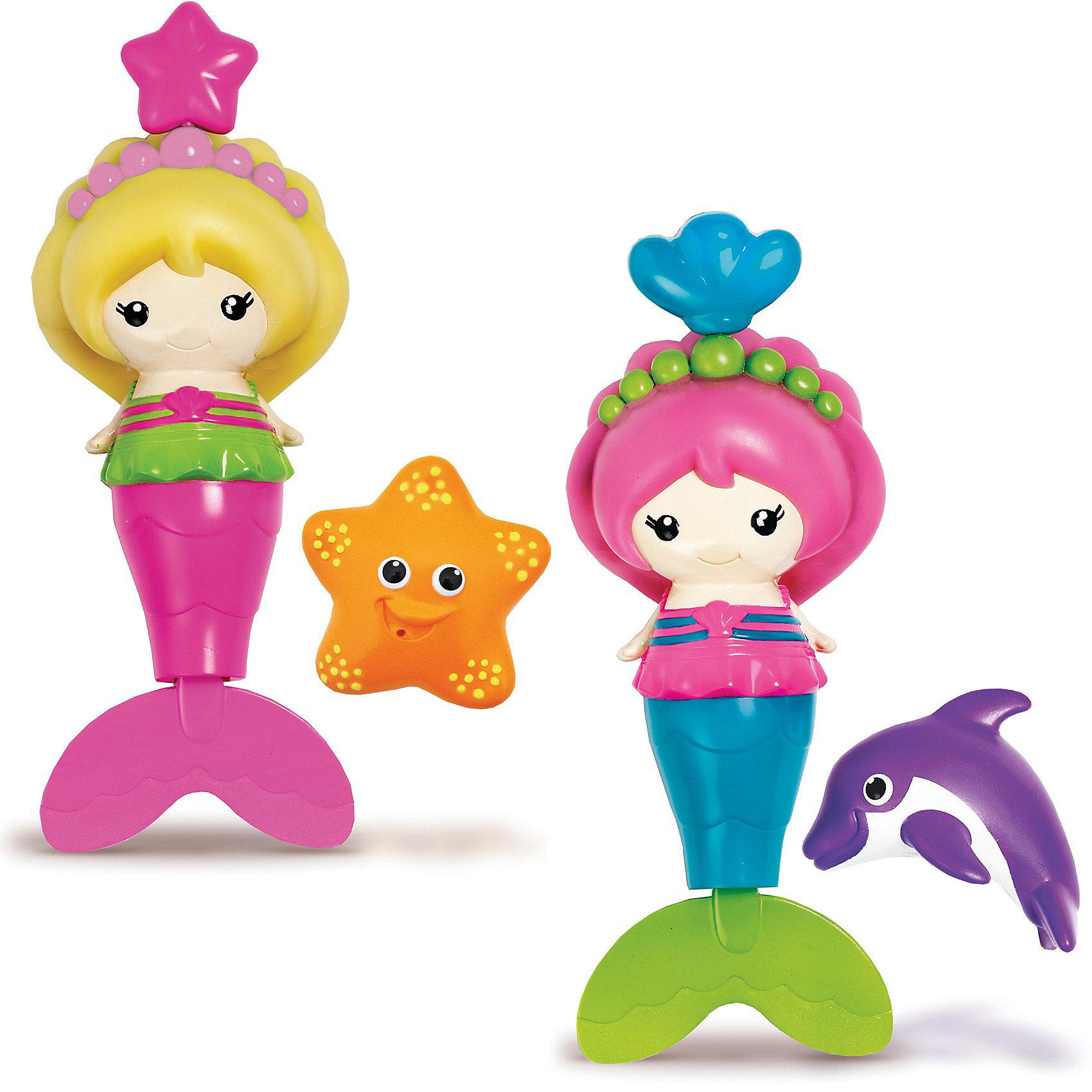 Игрушка для ванной Русалочка от 18мес., MunchkinДинамические игрушки<br>Вашу малышку ждет настоящее подводное путешествие с этой красочной русалкой от Munchkin, которая действительно умеет плавать. Потяни за кулон на короне - ее хвост начнет двигаться и она будет плавать по всей ванной! Русалка имеет идеальный размер для маленьких ручек.<br><br>Дополнительная информация:&#13;<br>&#13;<br>- Материал: пластик&#13;<br>- Размеры: 17 х 9 х 7 х см&#13;<br>&#13;- потяни за кулон на короне и русалка начнет двигать хвостом и плавать <br>- в наборе русалка и ее дружок (2 предмета) <br>- у русалки мягкие резиновые волосы <br>- 2 дизайна - для этого товара выбрать один из двух вариантов игрушки нет возможности<br>ВНИМАНИЕ! Данный артикул представлен в разных цветовых исполнениях ( в каждом свой маленький друг: дельфин или звезда). К сожалению, заранее выбрать определенный цвет невозможно. При заказе нескольких игрушек возможно получение одинаковых.<br><br>Игрушку для ванной Русалочка от 18мес., Munchkin можно купить в нашем магазине.<br><br>Ширина мм: 64<br>Глубина мм: 151<br>Высота мм: 215<br>Вес г: 195<br>Возраст от месяцев: 12<br>Возраст до месяцев: 48<br>Пол: Женский<br>Возраст: Детский<br>SKU: 3717342