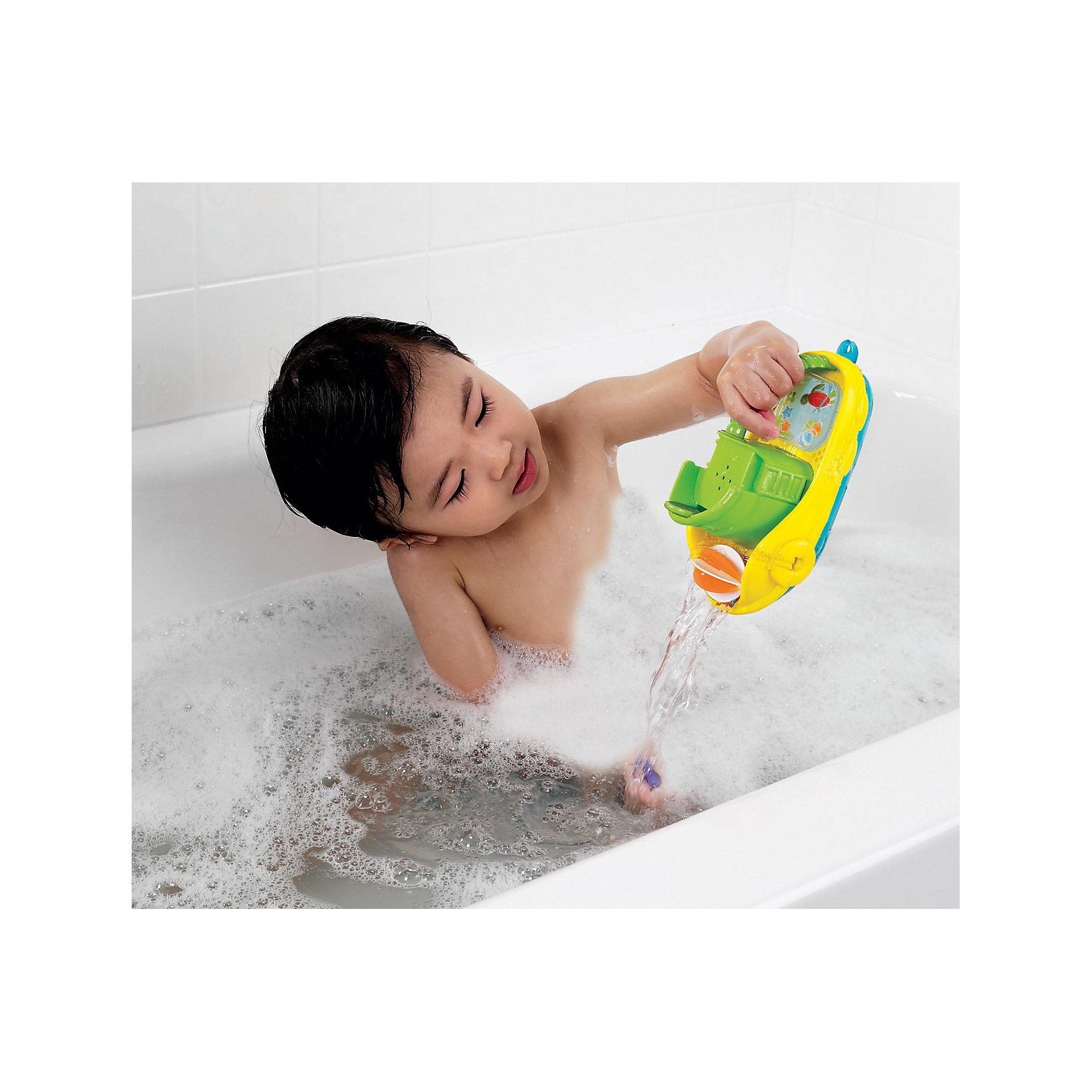 Игрушки для ванны Весёлая лодочка, Munchkin от myToys