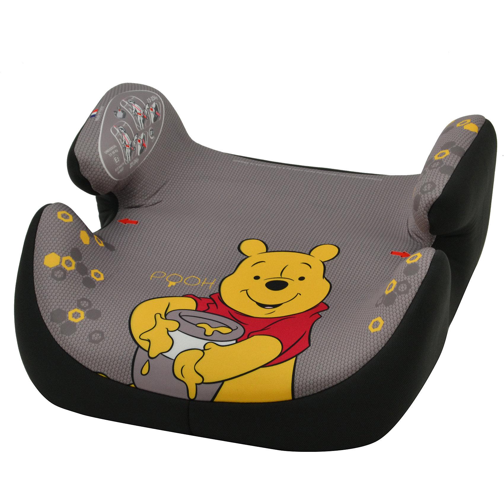Автокресло-бустер Topo Comfort FST, 15-36 кг., Винни Пух, NaniaАвтокресло Topo Comfort FST, 15-36 кг., Nania (Наниа) представляет собой бустер, специально предназначенный для безопасной перевозки Вашего ребенка. Компактный и стильный он прослужит Вам долгое время, так как очень практичен. В автомобиле он устанавливается только по ходу движения. Снабжен удобными подлокотниками и мягким, большим посадочным местом. У него съемный чехол, который можно стирать. В таком кресле Ваш ребенок будет чувствовать себя очень уютно и безопасно. Кресло имеет мягкое покрытие, а удобные подлокотники обеспечивают ребенку комфорт во время путешествия. <br>Ребенок в кресле надежно фиксируется штатными автомобильными ремнями безопасности. Маленьких пассажиров порадует дизайн кресла в стиле мультфильма Винни Пух. <br><br>Дополнительная информация:<br><br>- Группа: 2/3 (15-36) кг, примерно от 3 до 12 лет;<br>- Имеет европейский сертификат безопасности по строжайшим нормам ЕСЕ R44/03; <br>- Обеспечивает правильную посадку малыша и надлежащее расположение ремней безопасности;<br>- Корпус кресла выполнен из ударопрочного пластика;<br>- Оснащено удобными подлокотниками;<br>- Мягкое покрытие сиденья обеспечивает ребенку комфорт и уют во время поездок в автомобиле;<br>- Съемный чехол изготовлен из практичной техно-ткани и при необходимости легко чистится;<br>- Благодаря компактным размерам кресло легко помещается в багажнике и не занимает много места при хранении;<br>- Съемный чехол (возможна ручная стирка при температуре 30°);<br>- Уникальный дизайн в стиле мультфильма про Винни Пуха;<br>- Цвет: бежевый/коричневый;<br>- Вес: 1,9 кг.<br><br>Автокресло Topo Comfort FST, 15-36 кг., Винни Пух, Nania (Наниа) можно купить  в нашем интернет-магазине.<br><br>Ширина мм: 430<br>Глубина мм: 430<br>Высота мм: 260<br>Вес г: 1900<br>Возраст от месяцев: 36<br>Возраст до месяцев: 144<br>Пол: Унисекс<br>Возраст: Детский<br>SKU: 3717846