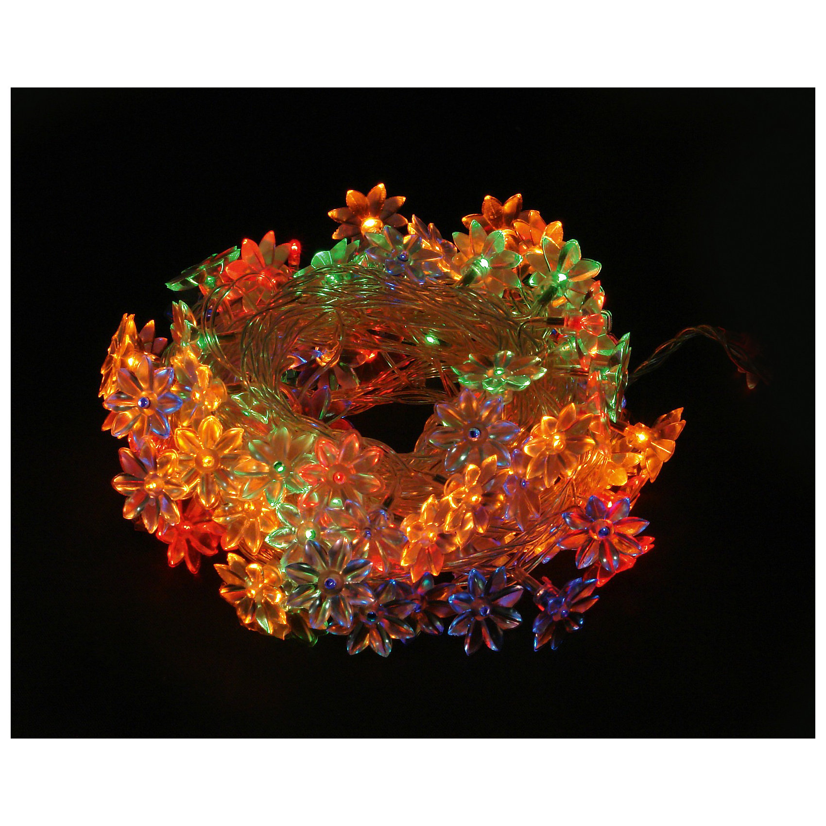 Электрогирлянда  Соцветие, Волшебная странаВсё для праздника<br>Электрогирлянда  Соцветие, Волшебная страна - это неотъемлемая часть украшения интерьера.<br>Многоцветная электрогирлянда  Соцветие предназначена для декорирования помещений. На прозрачном проводе размещены 100 мини-ламп в форме соцветий.<br><br>Дополнительная информация:<br><br>- Длина гирлянды: 8 м.<br>- Количество режимов: 8<br>- Мощность: 65,5Вт<br>- Напряжение: 220-240В<br><br>Электрогирлянду  Соцветие, Волшебная страна можно купить в нашем интернет-магазине.<br><br>Ширина мм: 175<br>Глубина мм: 68<br>Высота мм: 85<br>Вес г: 2556<br>Возраст от месяцев: 36<br>Возраст до месяцев: 144<br>Пол: Унисекс<br>Возраст: Детский<br>SKU: 3718051